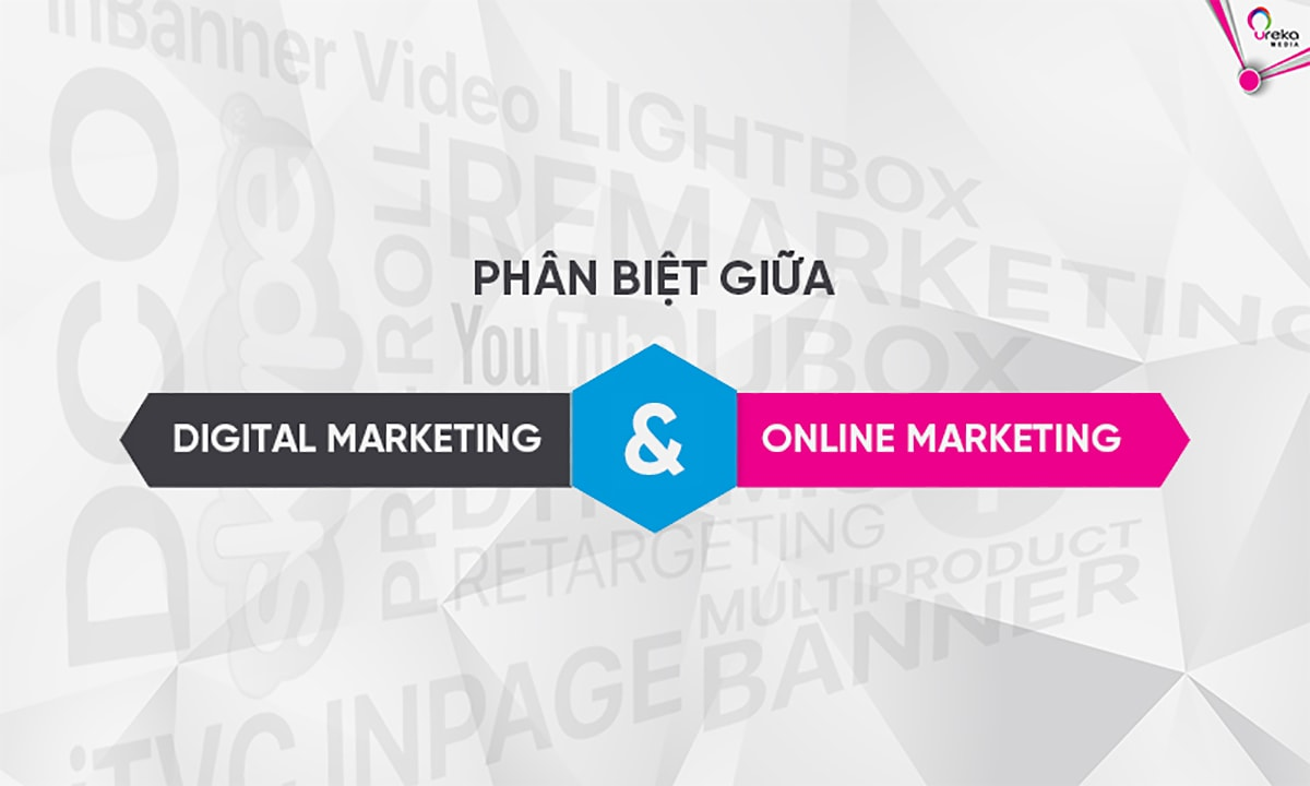 Phân Biệt Digital Marketing Và Online Marketing