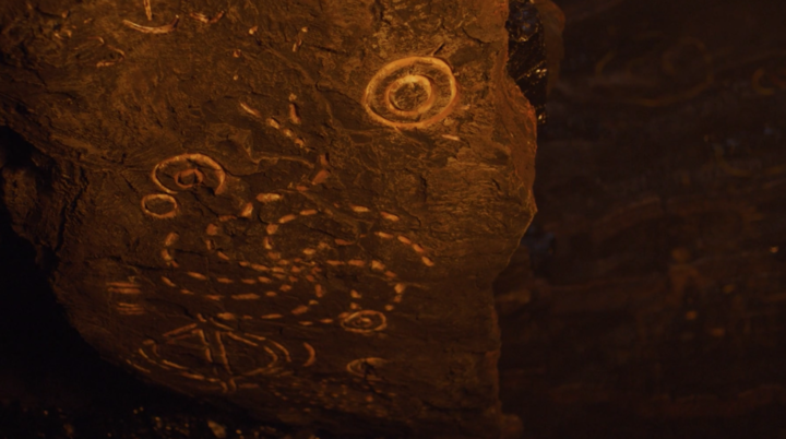 The White Walker cave symbols call back to the other signs on the show.
