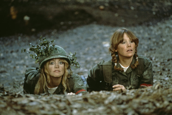 """Goldie Hawn and Mary Kay Place in """"Private Benjamin."""""""