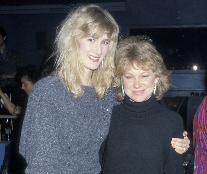 """Laura Dern and Place at the premiere of """"Smooth Talk"""" in 1985."""