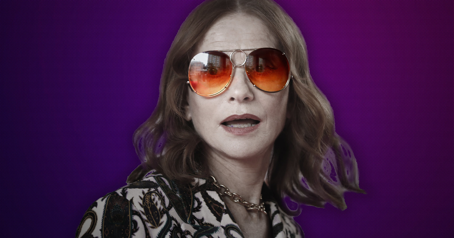 For Isabelle Huppert, Playing A 'Psychopath' Is A Laugh Riot