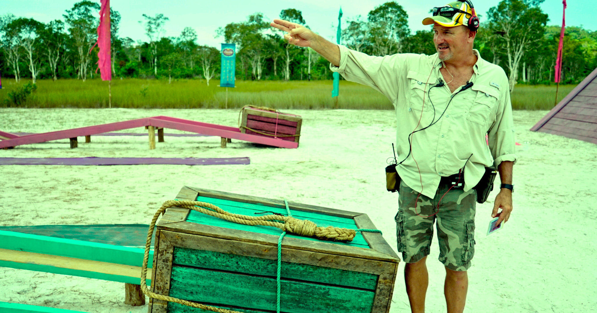 The Torture King Of Reality TV Explains How He Dreams Up 'Survivor' Challenges