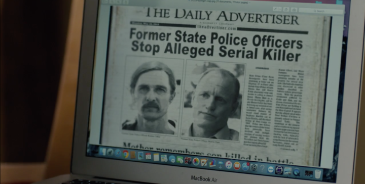 Rust Cohle and Marty Hart cameo in Season 3.