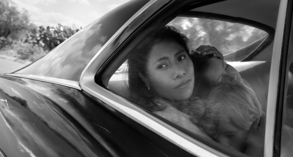 """""""Roma"""" is up for four technical Oscars: Best Production Design, Best Cinematography, Best Sound Mixing and Best Sound Editing"""