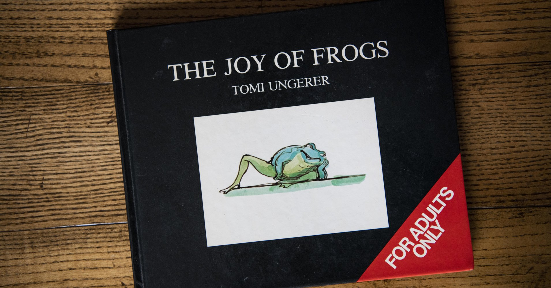 Tomi Ungerer Has Died, But His Frog-Centric Sex Bible Will Live Forever