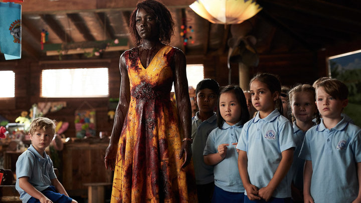 "Nyong'o in ""Little Monsters,"" in which she plays a kindergarten teacher protecting her students from a zombie outbreak."