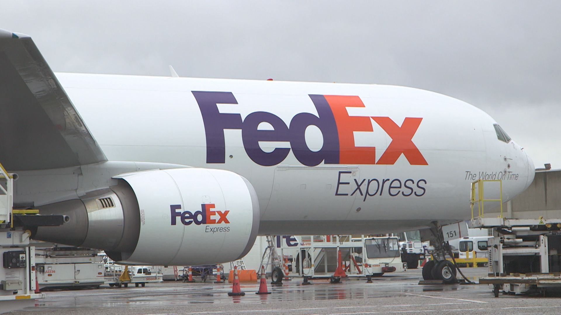 FedEx downgraded by UBS on fears about the global economy