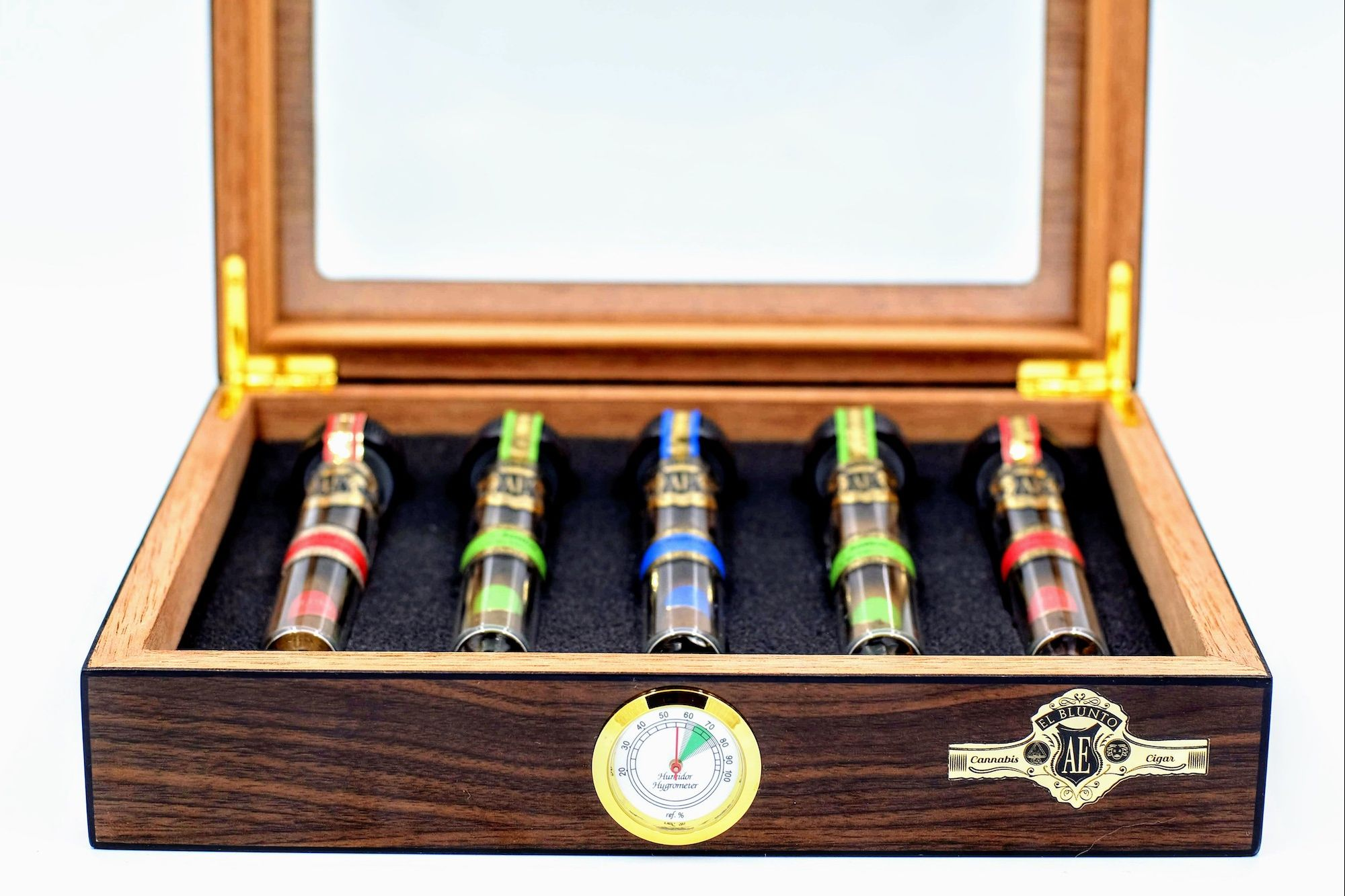 For the Cannasieur, Pre-rolls in a Humidor
