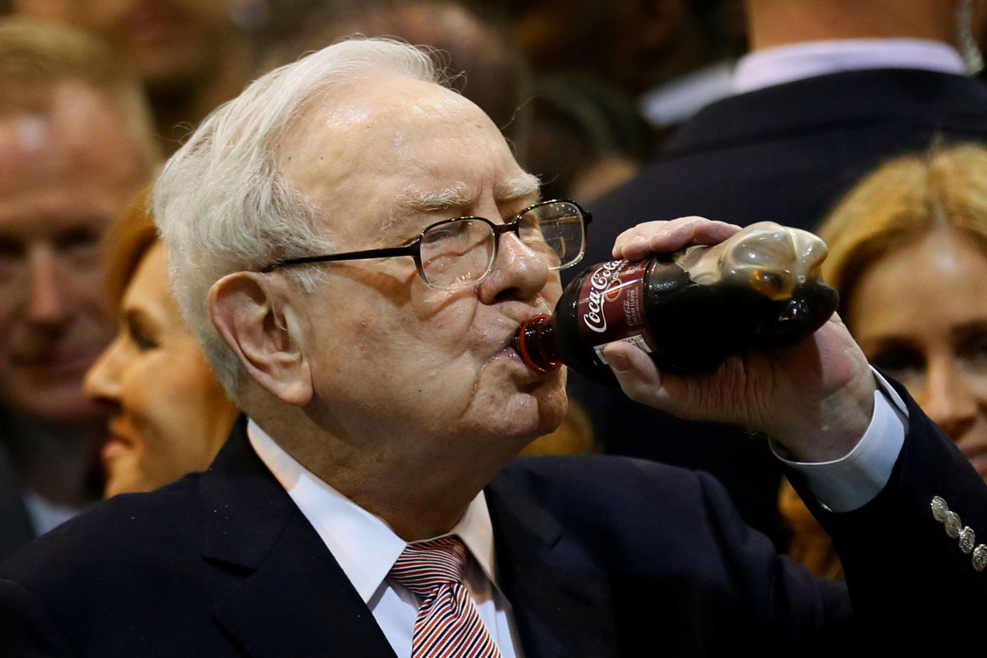 Warren Buffett Says He Eats McDonald's 3 Times a Week and Pounds Cokes Because He's Not 'Bothered' by Death