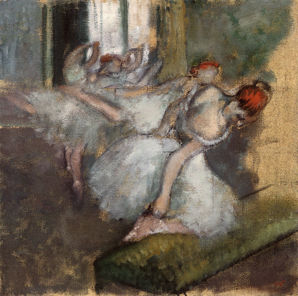 Degas' odes to the Paris Opera have taken on the rosy glow of nostalgia, but when he painted his subjects, he saw neith