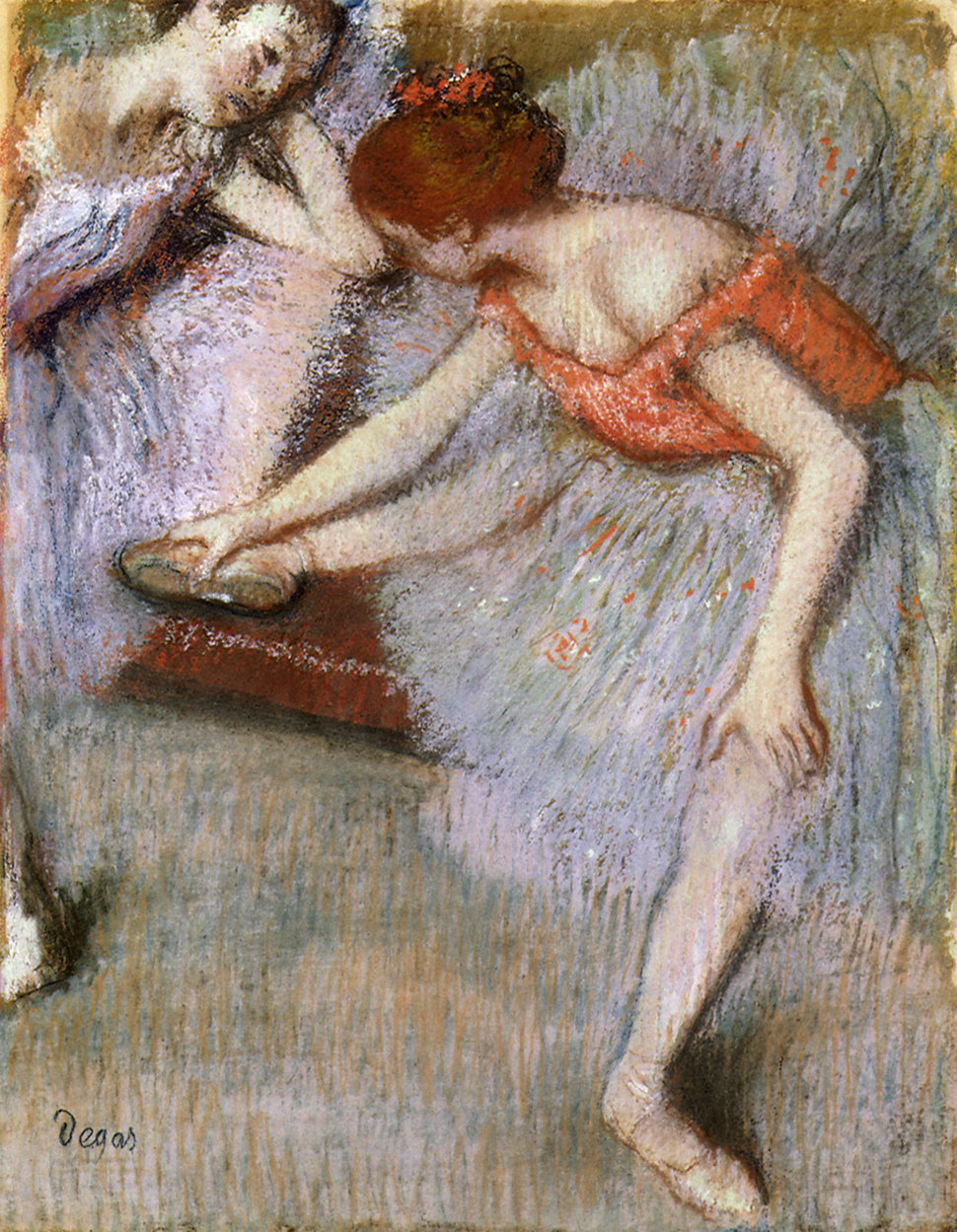 As an adult, Degas fraternized with few women aside from his housekeepers. His friends believed he feared women would in