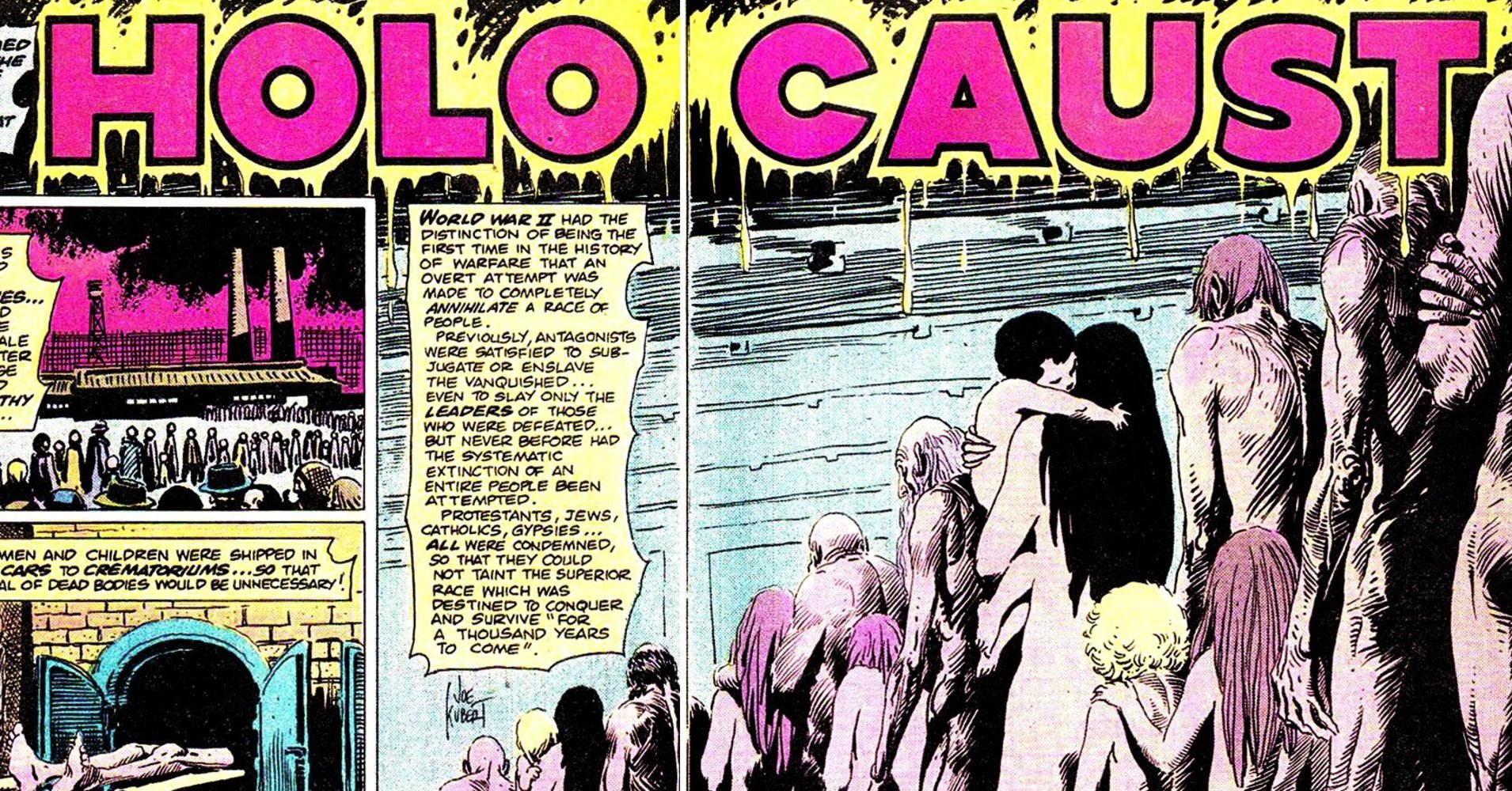 The Comic Books That Taught A Generation Of American Teens About The Holocaust