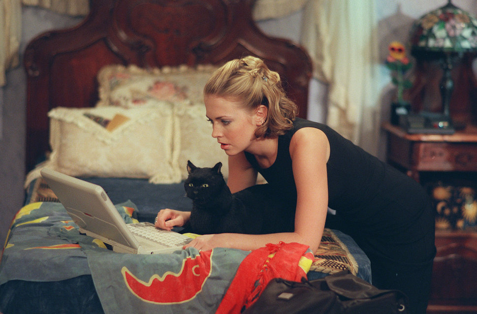 "Melissa Joan Hart as Sabrina Spellman in ""Sabrina the Teenage Witch."""