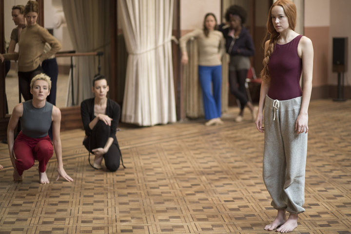 "Dakota Johnson in 2018's ""Suspiria."""