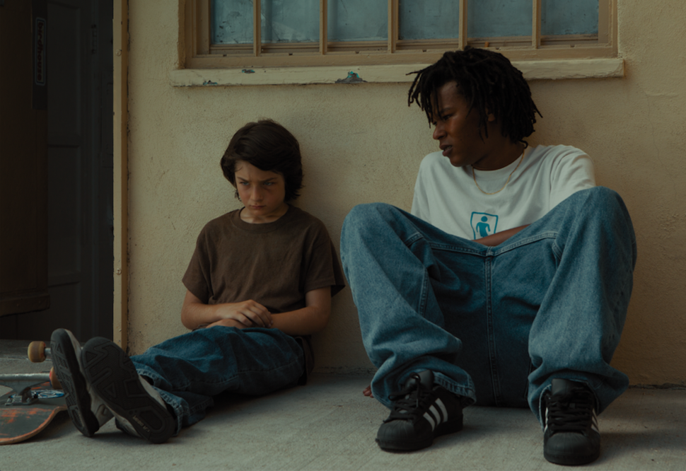 "Stevie (Sunny Suljic) and Ray (Na-kel Smith) form a quiet bond over the course of ""Mid90s."""