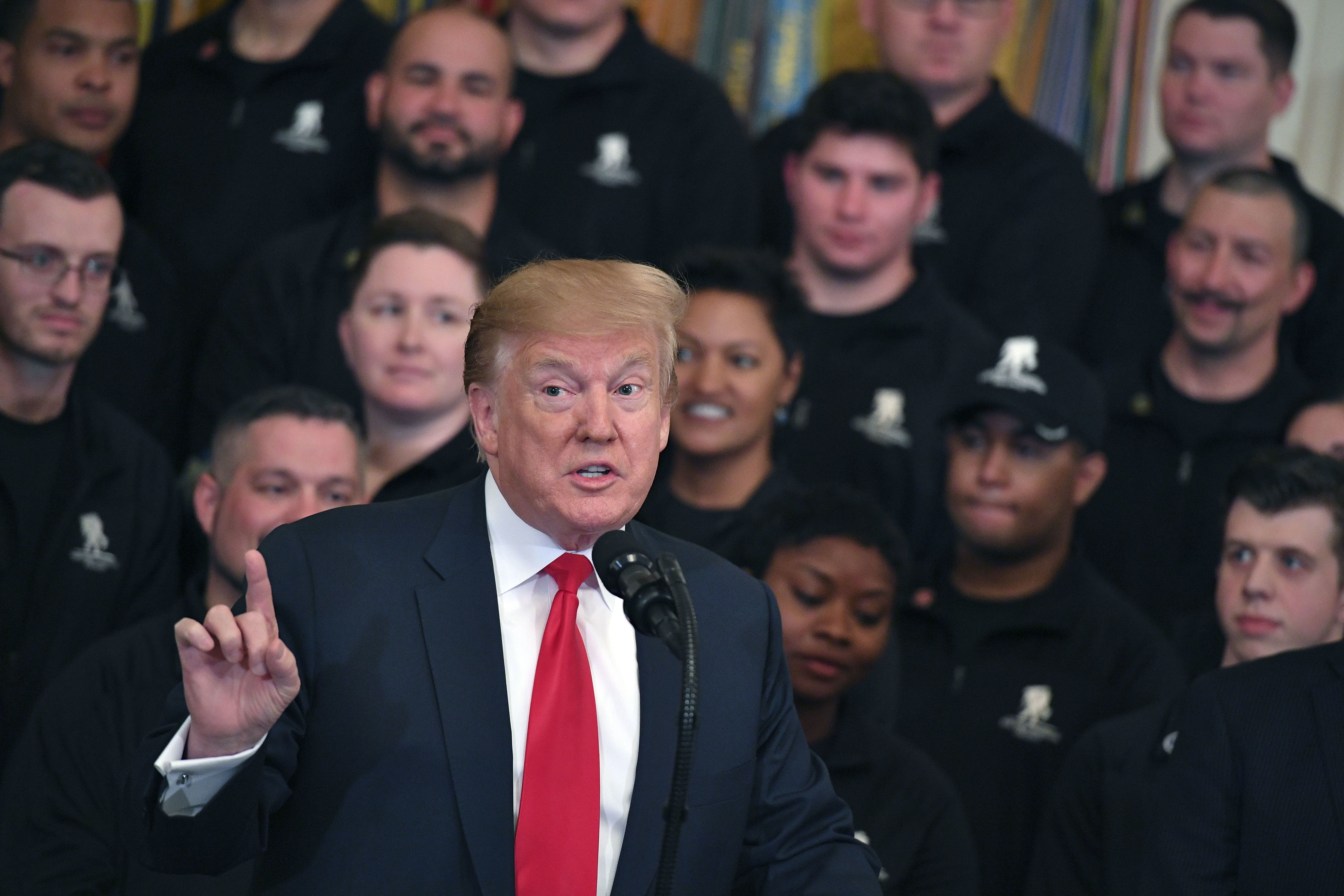 A 10% stock drop needed before Trump changes harsh trade tone