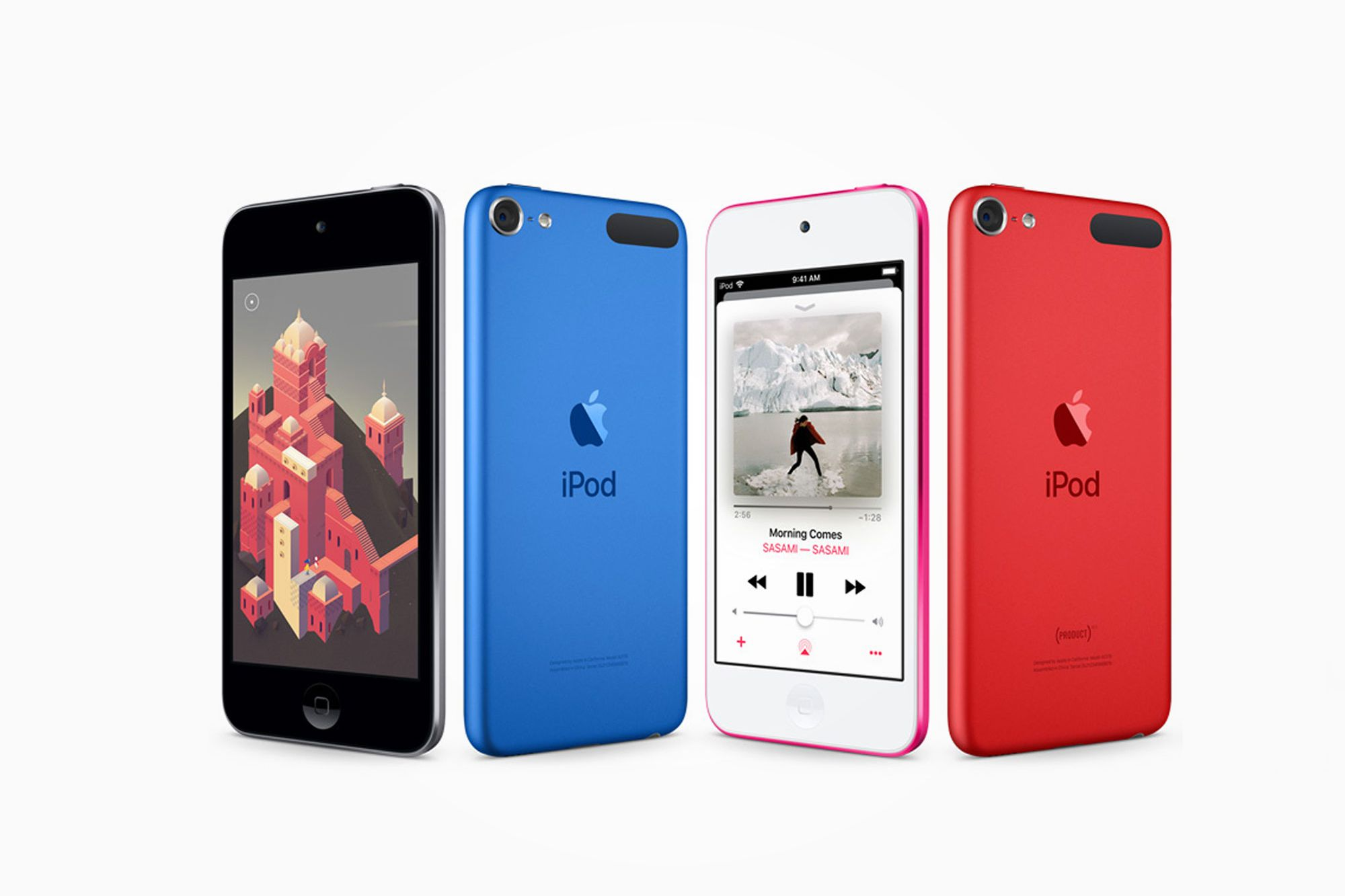 Apple Launches a New iPod Touch
