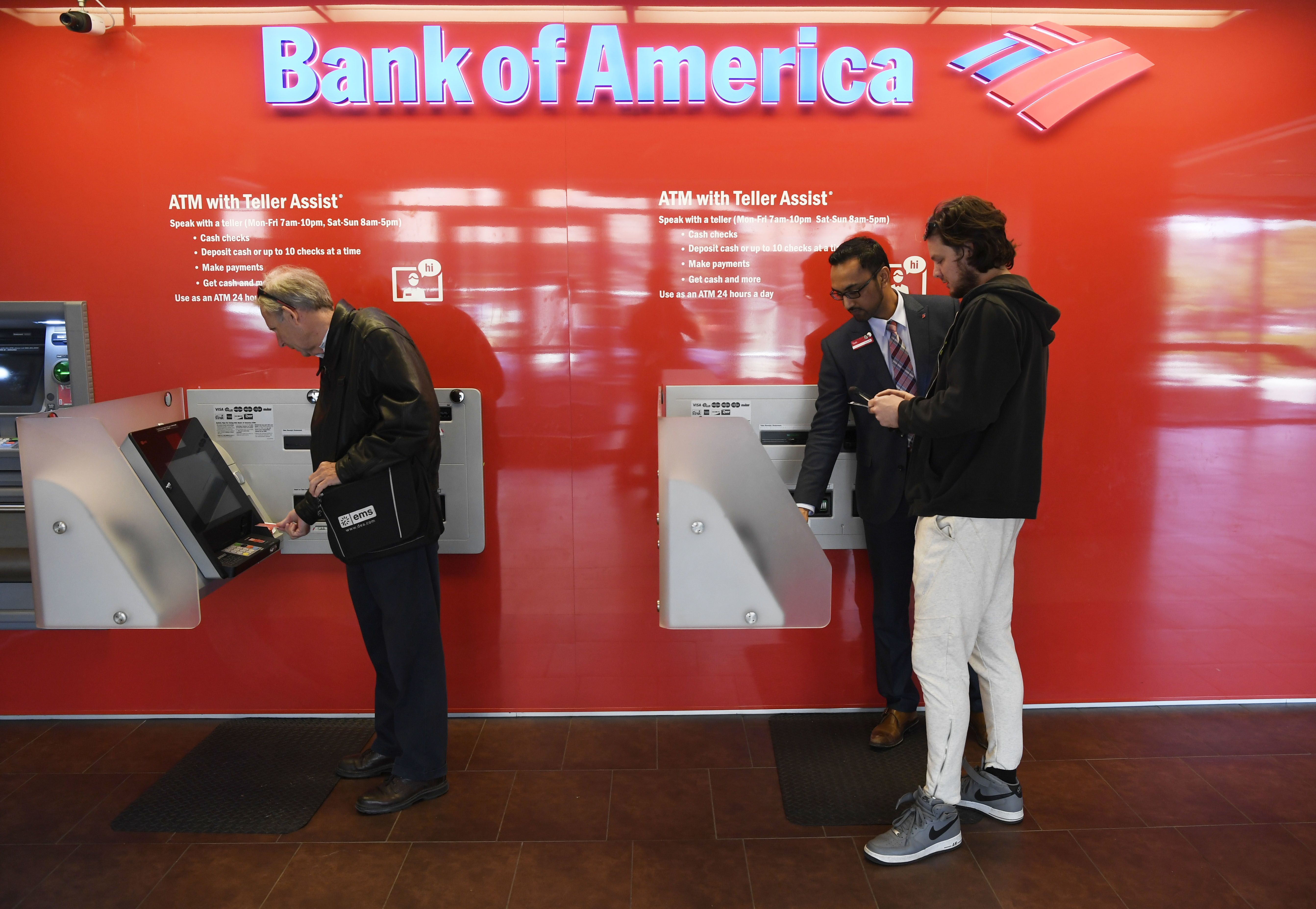 Bank of America employees get first pay bump on road to $20 an hour minimum wage