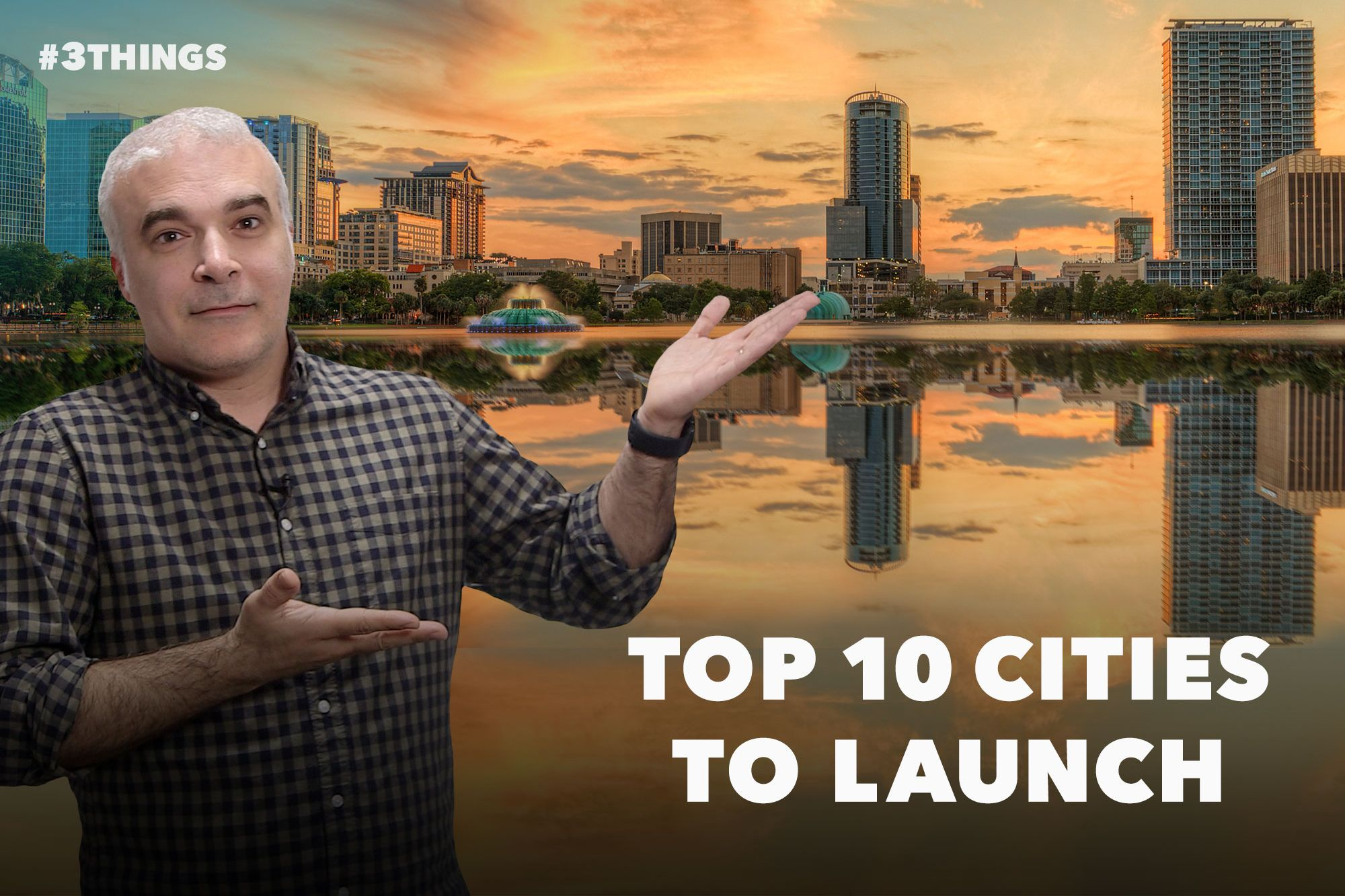 Best Big Cities to Launch Your Business, Ranked (60-Second Video)
