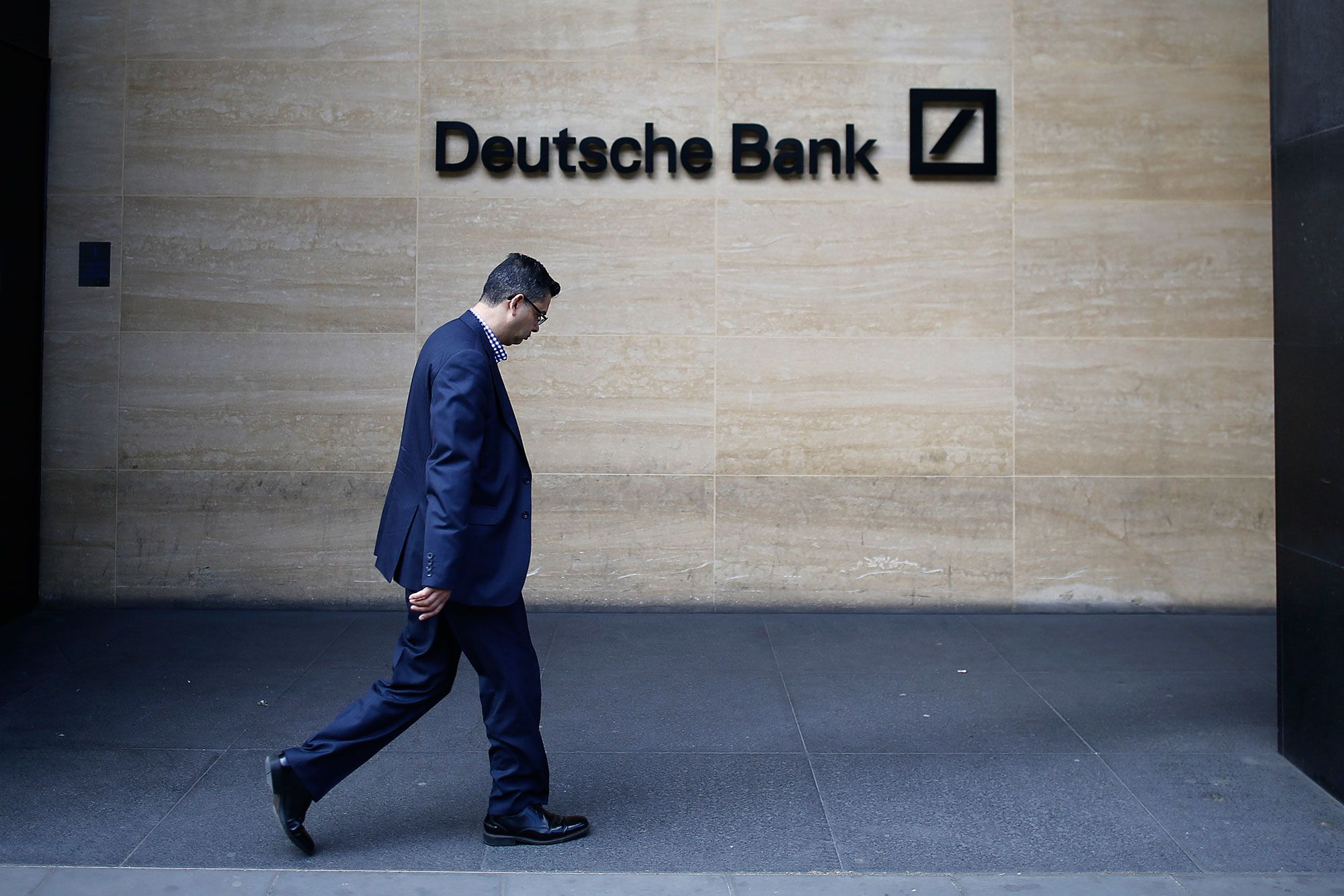 Deutsche Bank shares hit record low as UBS downgrades stock to 'sell'