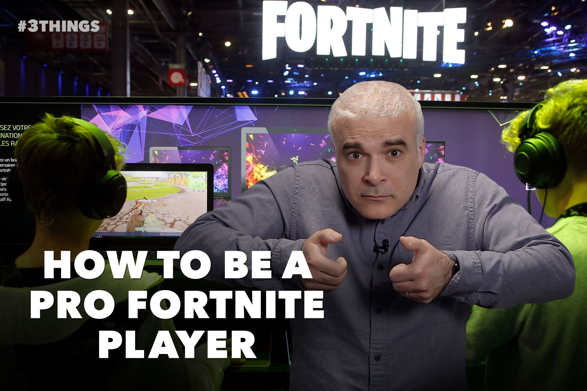 How to Become a Professional Fortnite Player (60-Second Video)