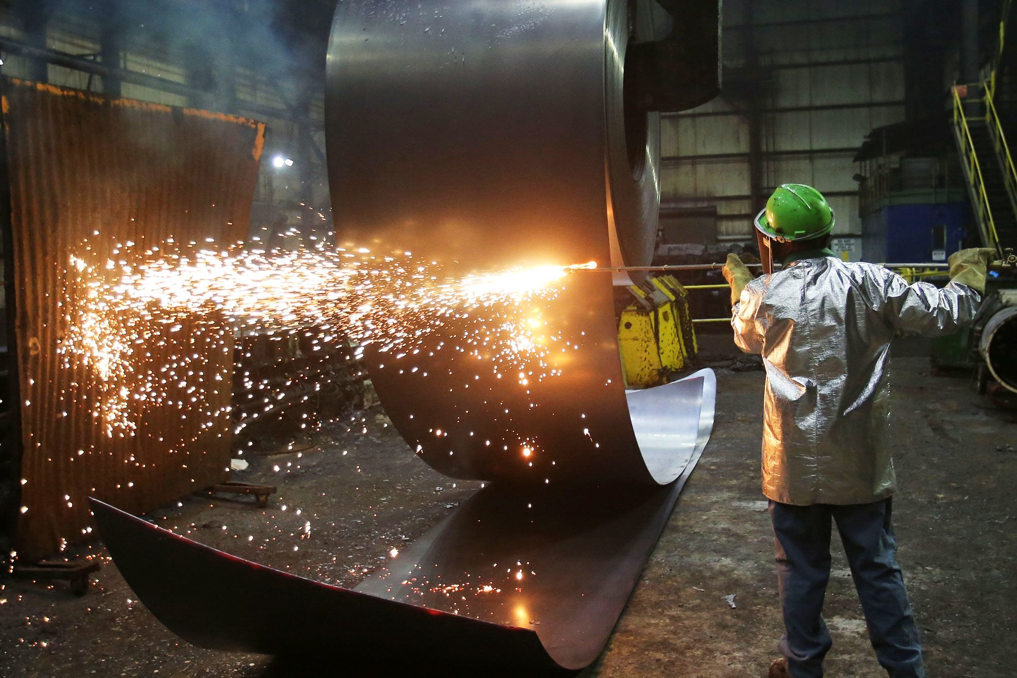 Latest data show surprise slowing in US, China economies as trade war escalates