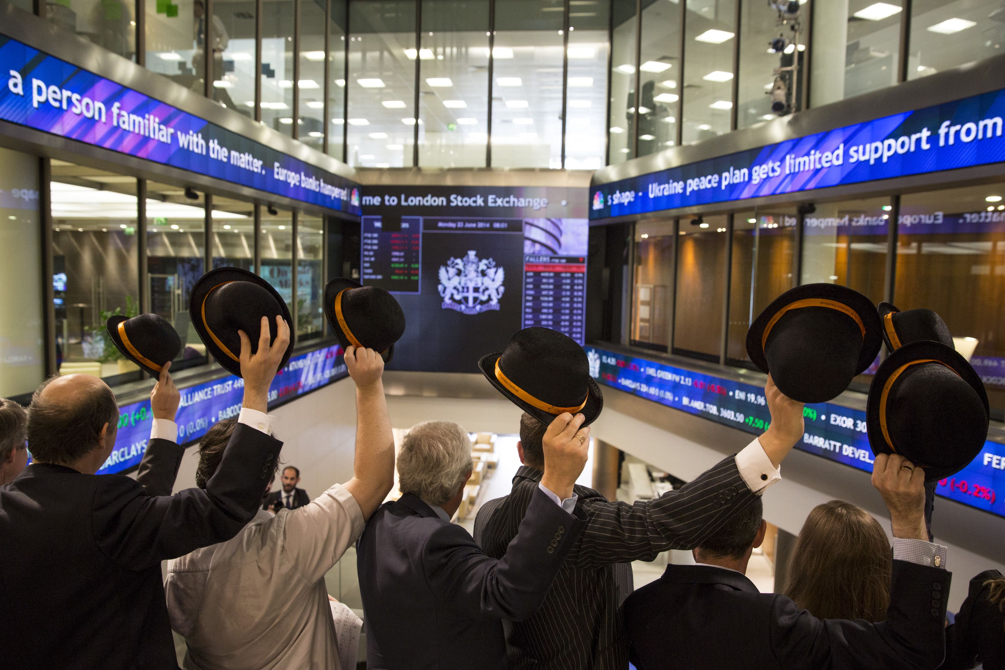 London Stock Exchange CEO on blockchain and cryptocurrency