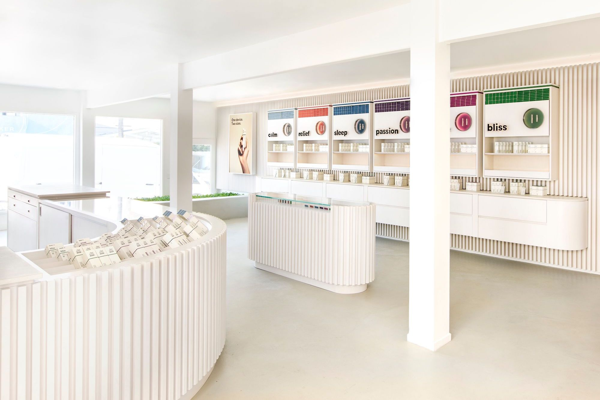 The New Dosist Store Is As Calming As Its Pens