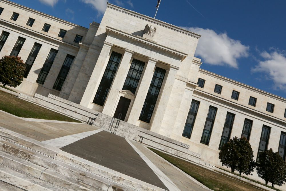 The market now thinks the Fed will cut rates twice by January