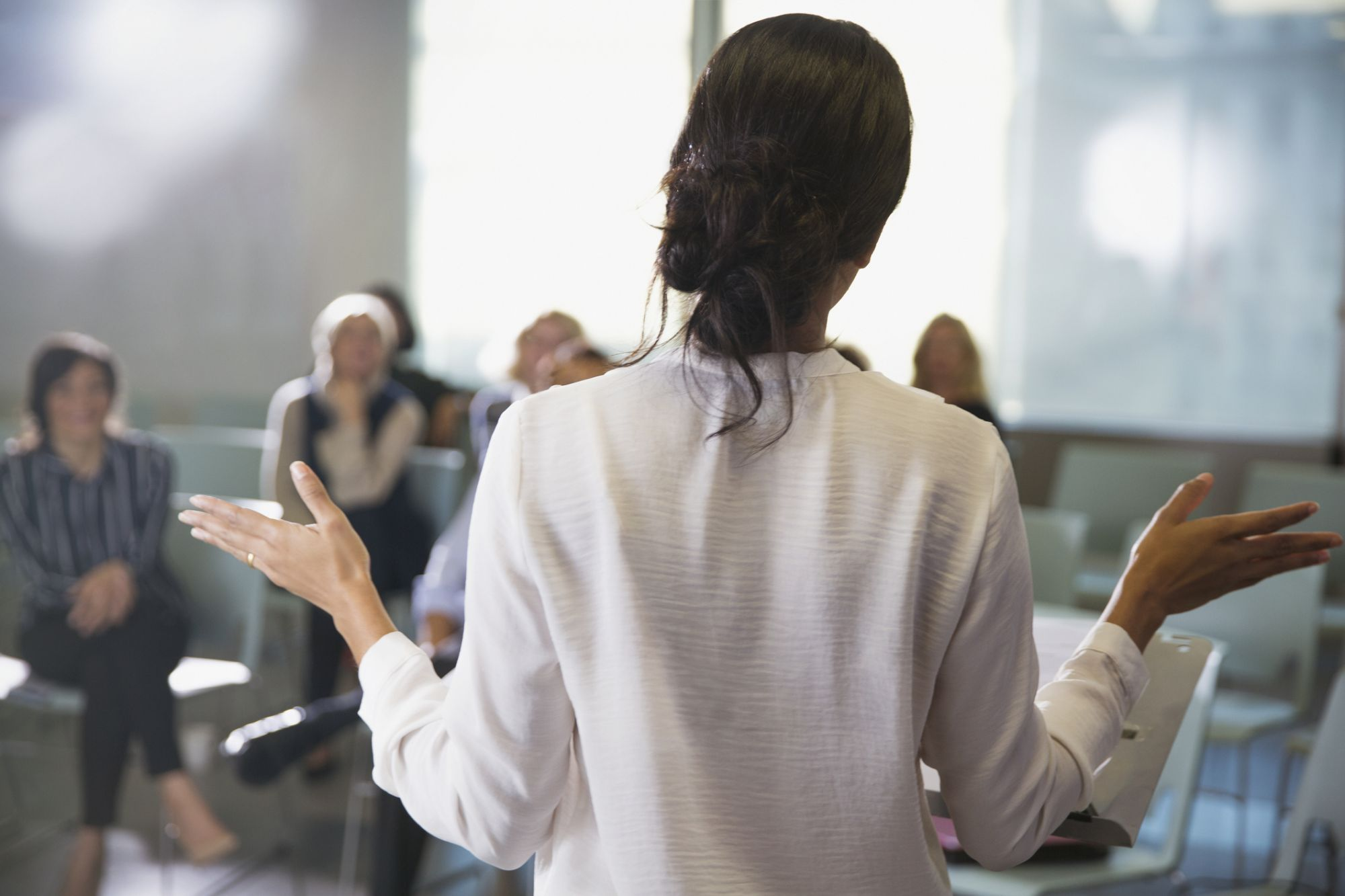 If You're a Female, It's Time to 'Speak up,' Because Those Speaking Gigs Are Out There