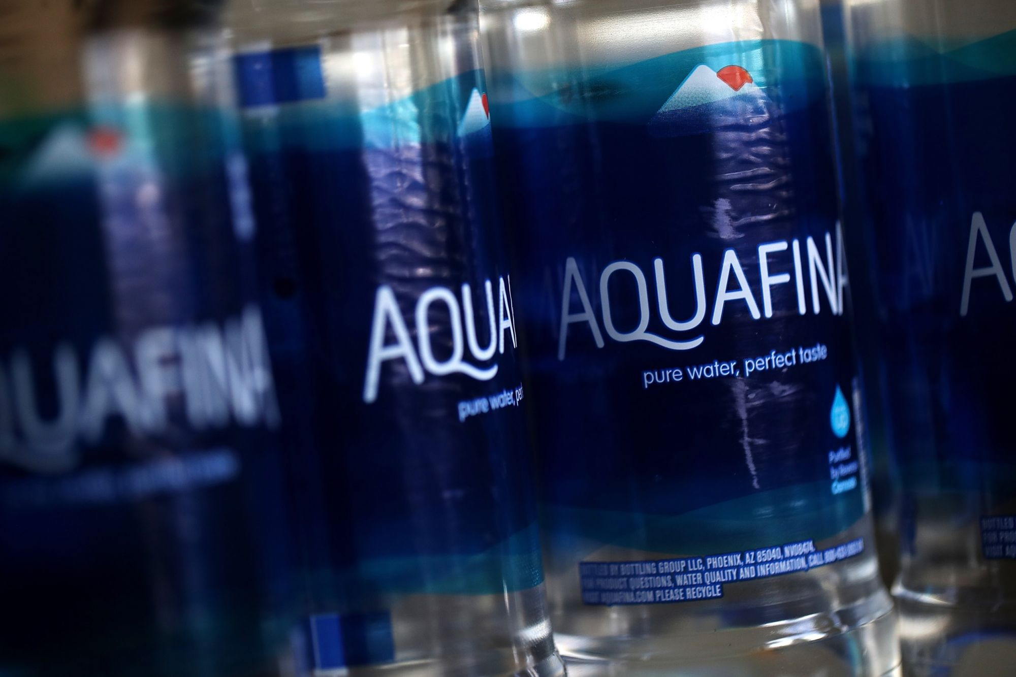 Pepsico Says It Will Reduce Its Plastic Use, Including Putting Aquafina in Cans