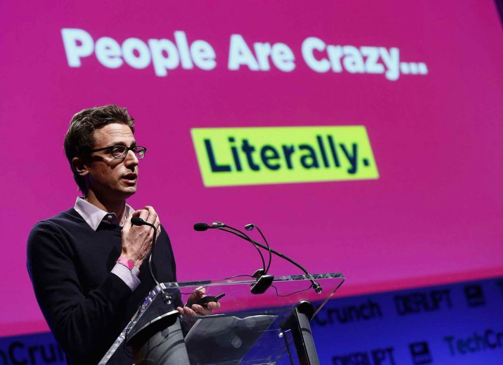 Jonah Peretti reads the business or sports section of the New York Times on his morning commute.