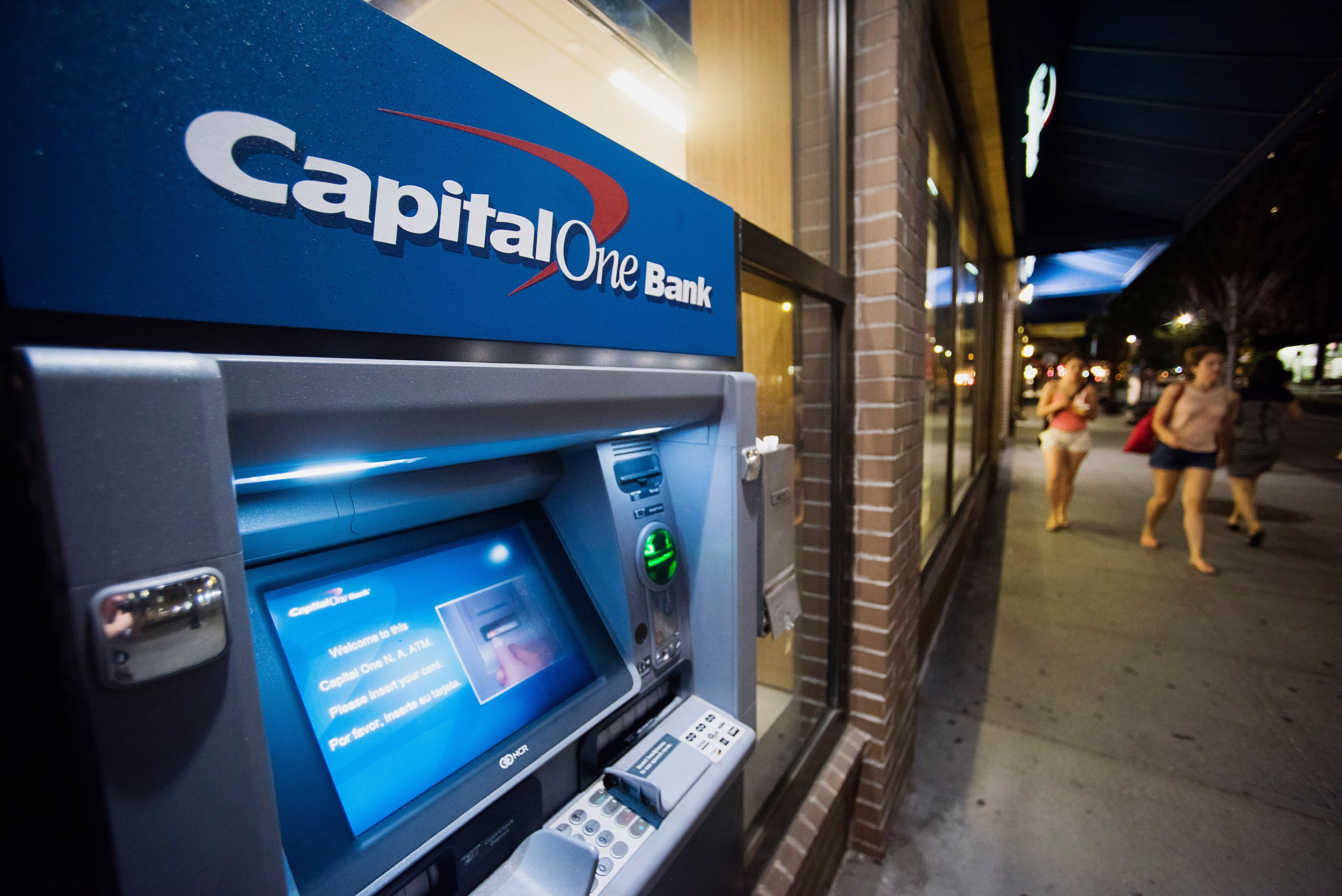 Capital One shares dive after data breach affecting 100 million