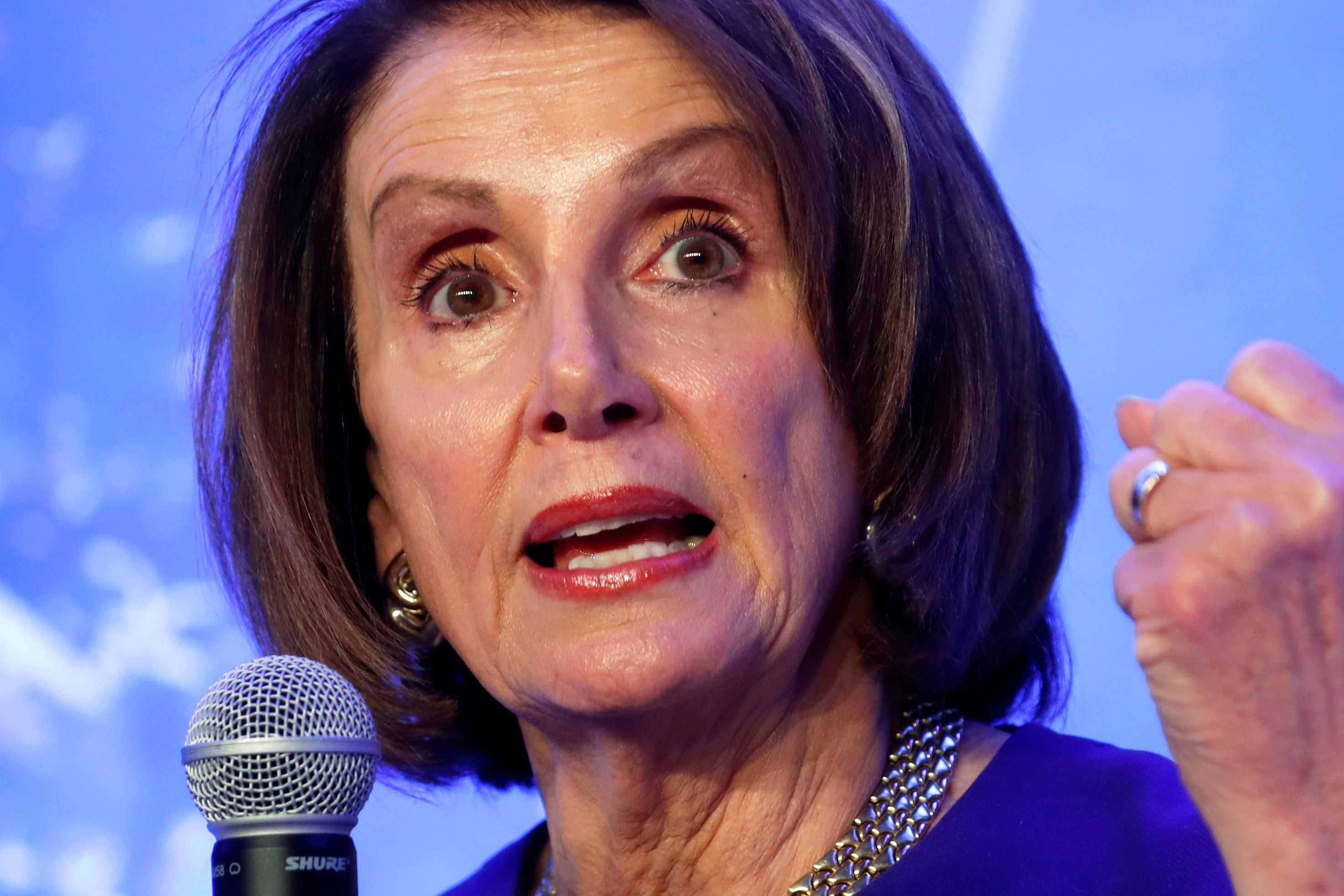Pelosi rejects Trump debt ceiling proposal, talks to continue