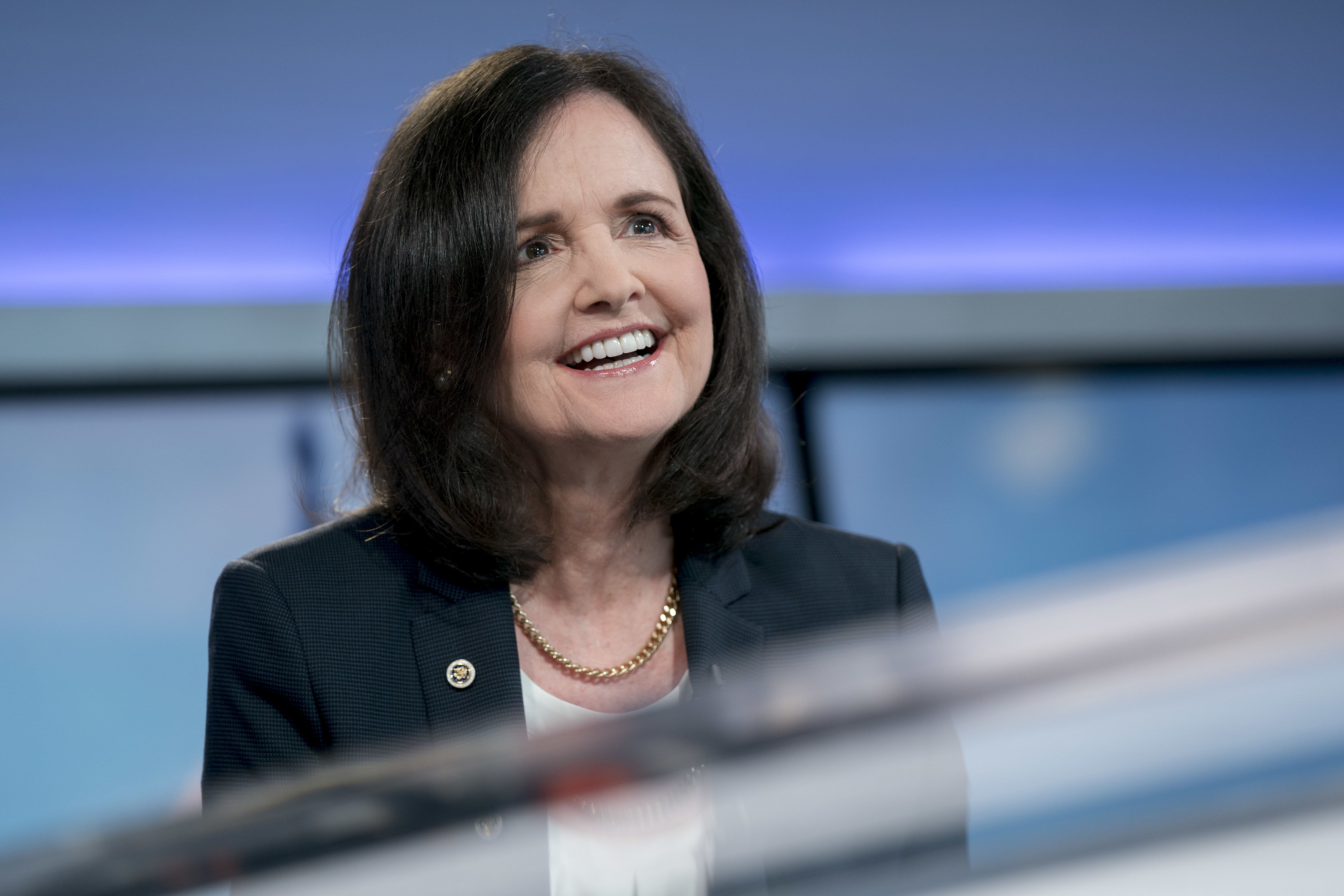 Prospective Trump Fed nominee Judy Shelton calls for a deeper rate cut later this month