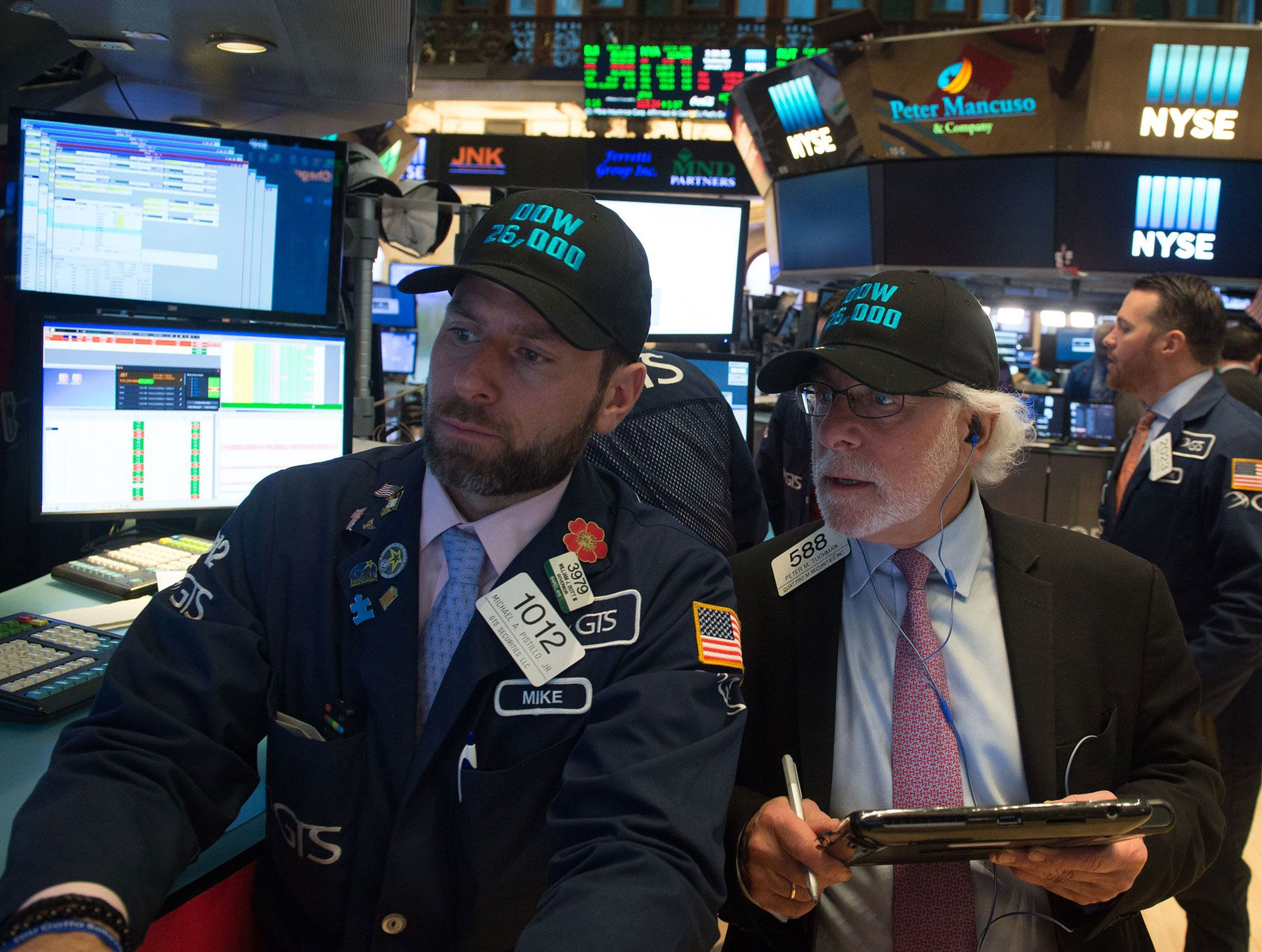 Stocks making the biggest moves: Boeing, Texas Instruments, Caterpillar
