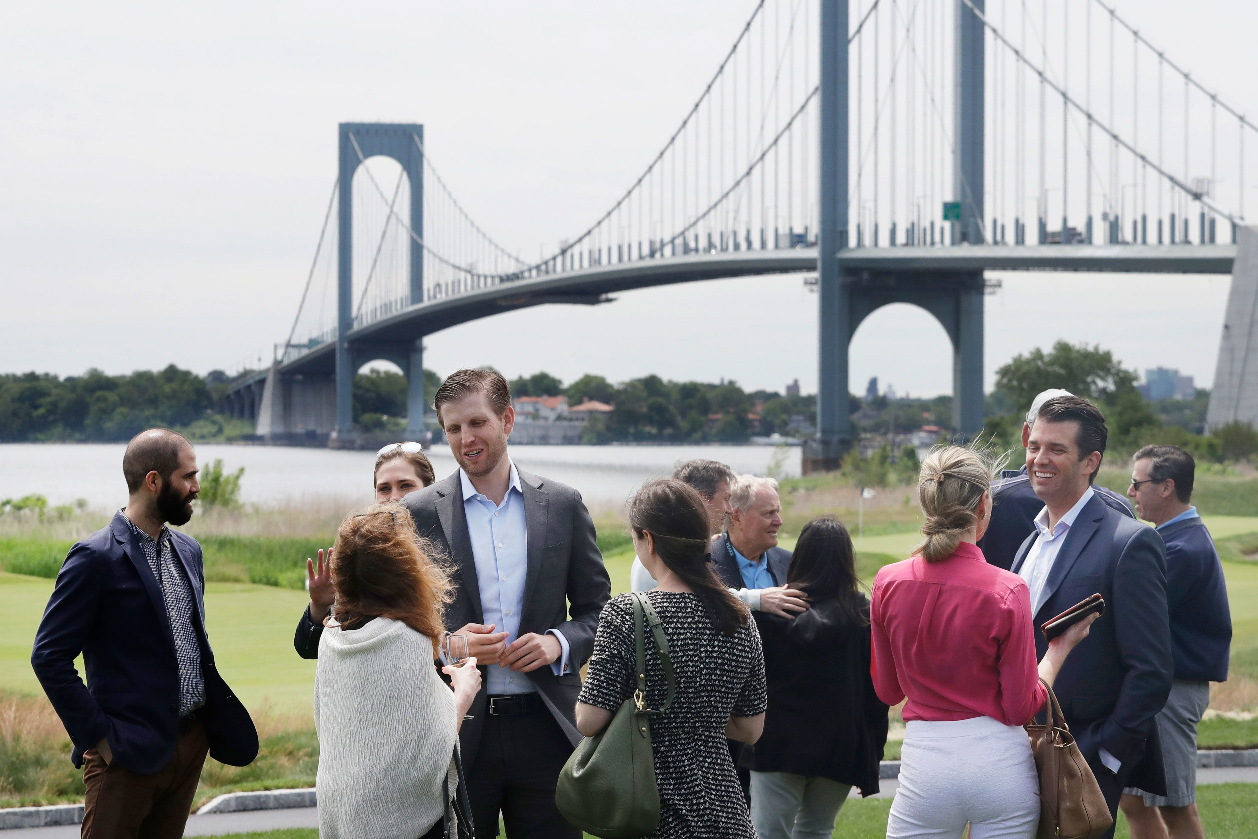 Trump's Bronx golf course lost $122,000 last year and blamed NYC