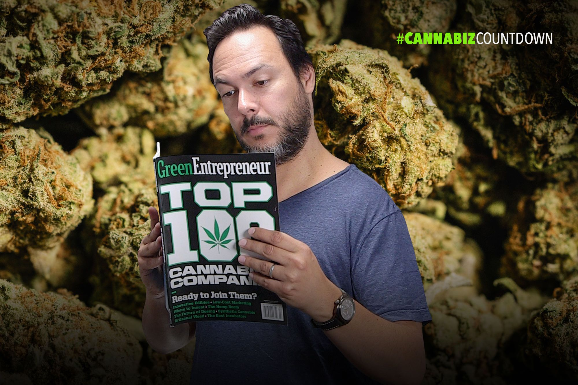 Entrepreneur Names the Top 100 Cannabis Companies (60-Second Video)