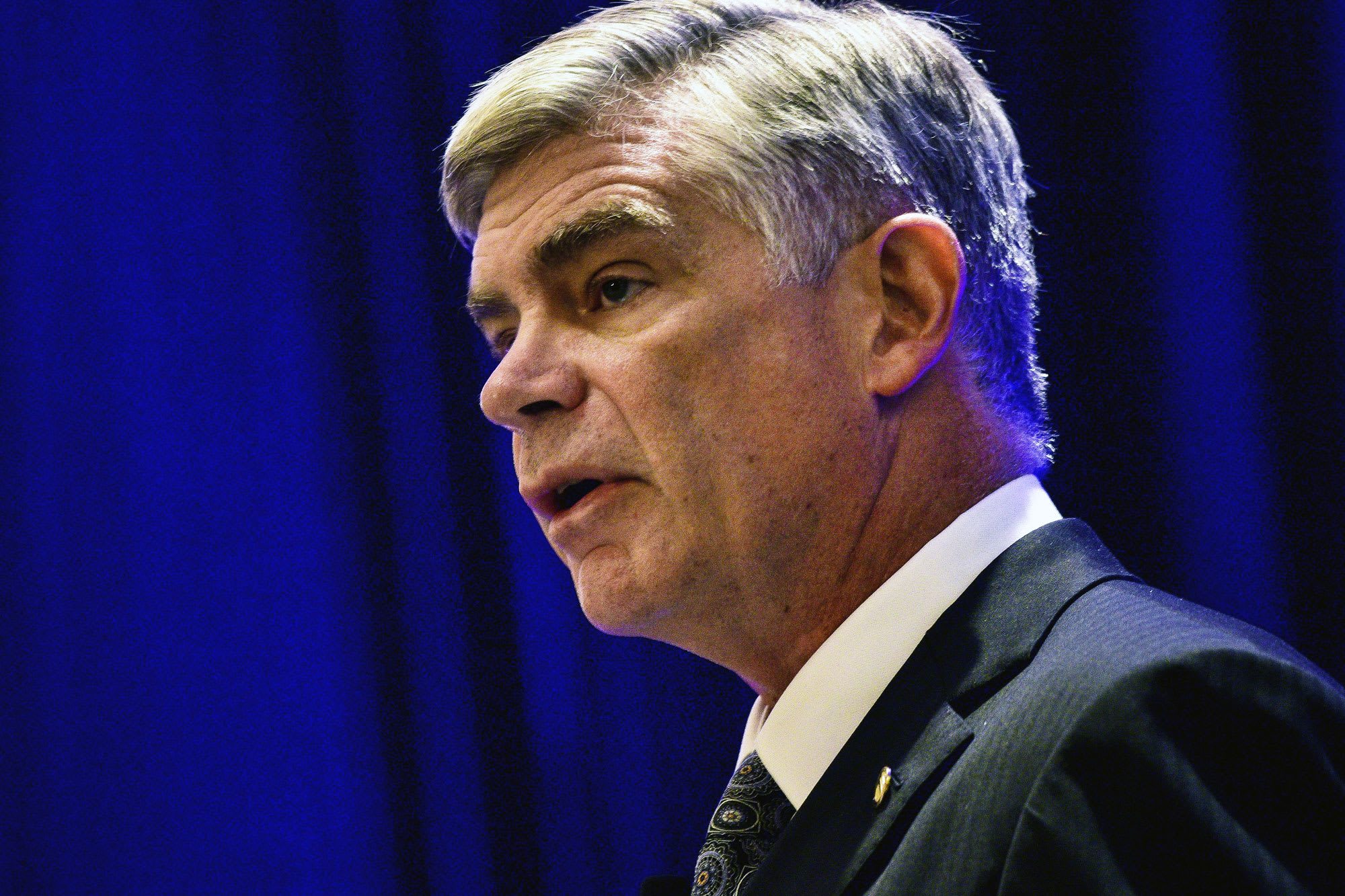 Fed's Harker doesn't see need for another rate cut
