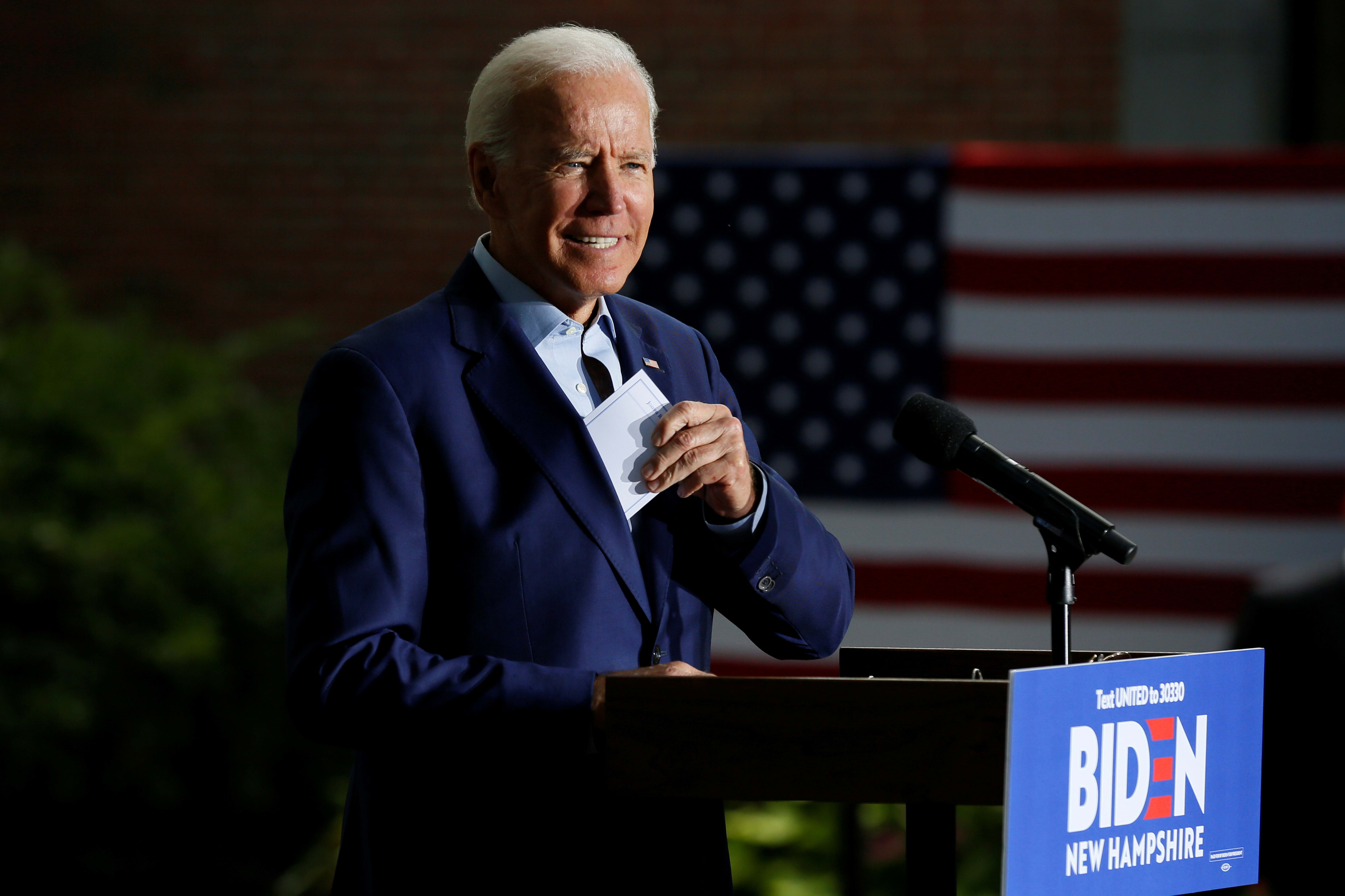 Joe Biden hints at his plan to address student debt and college costs