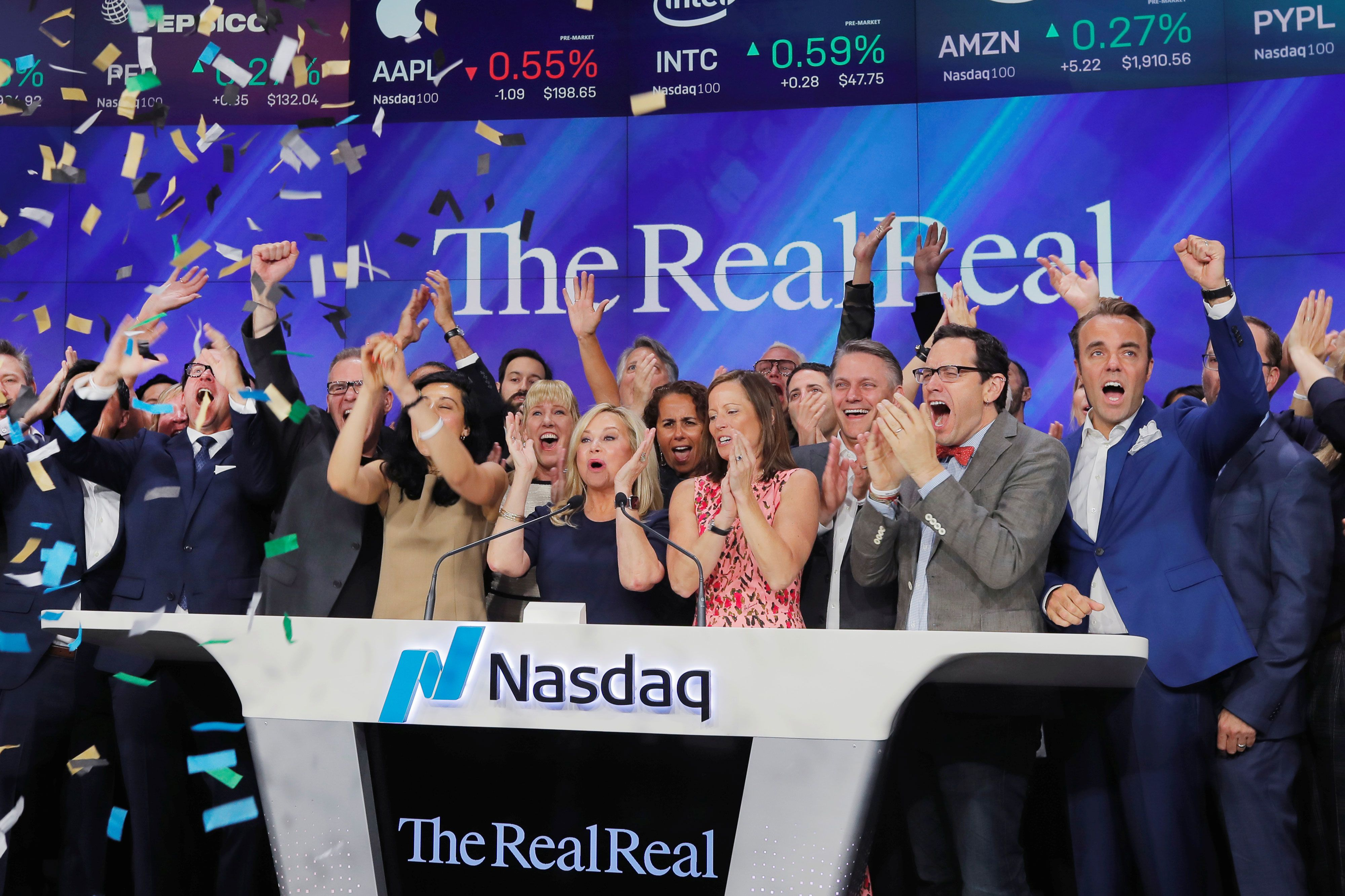 Stocks making the biggest moves after hours: RealReal, Tilray, and Myriad