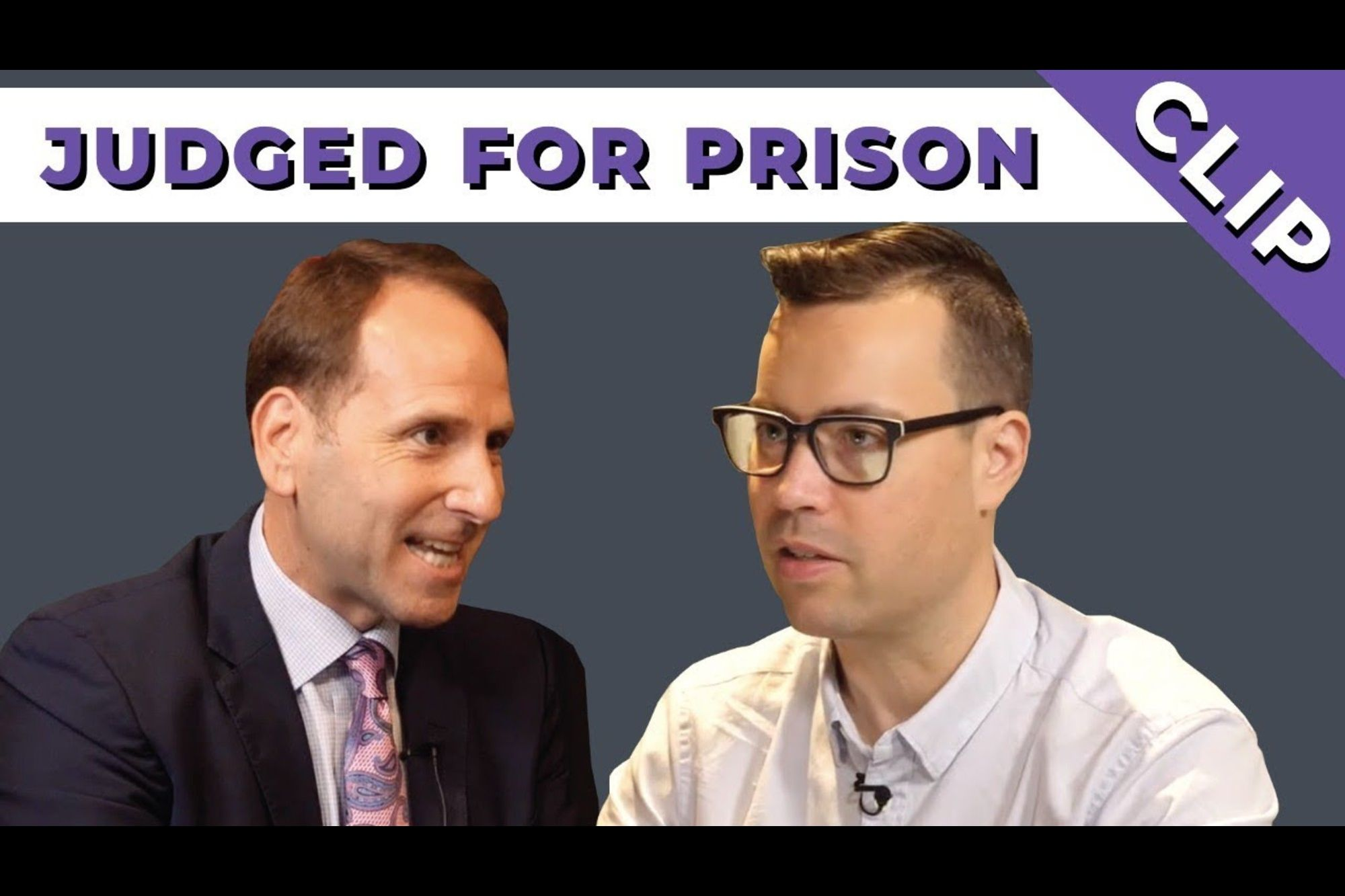 What This Defense Consultant Learned From His Felony Conviction
