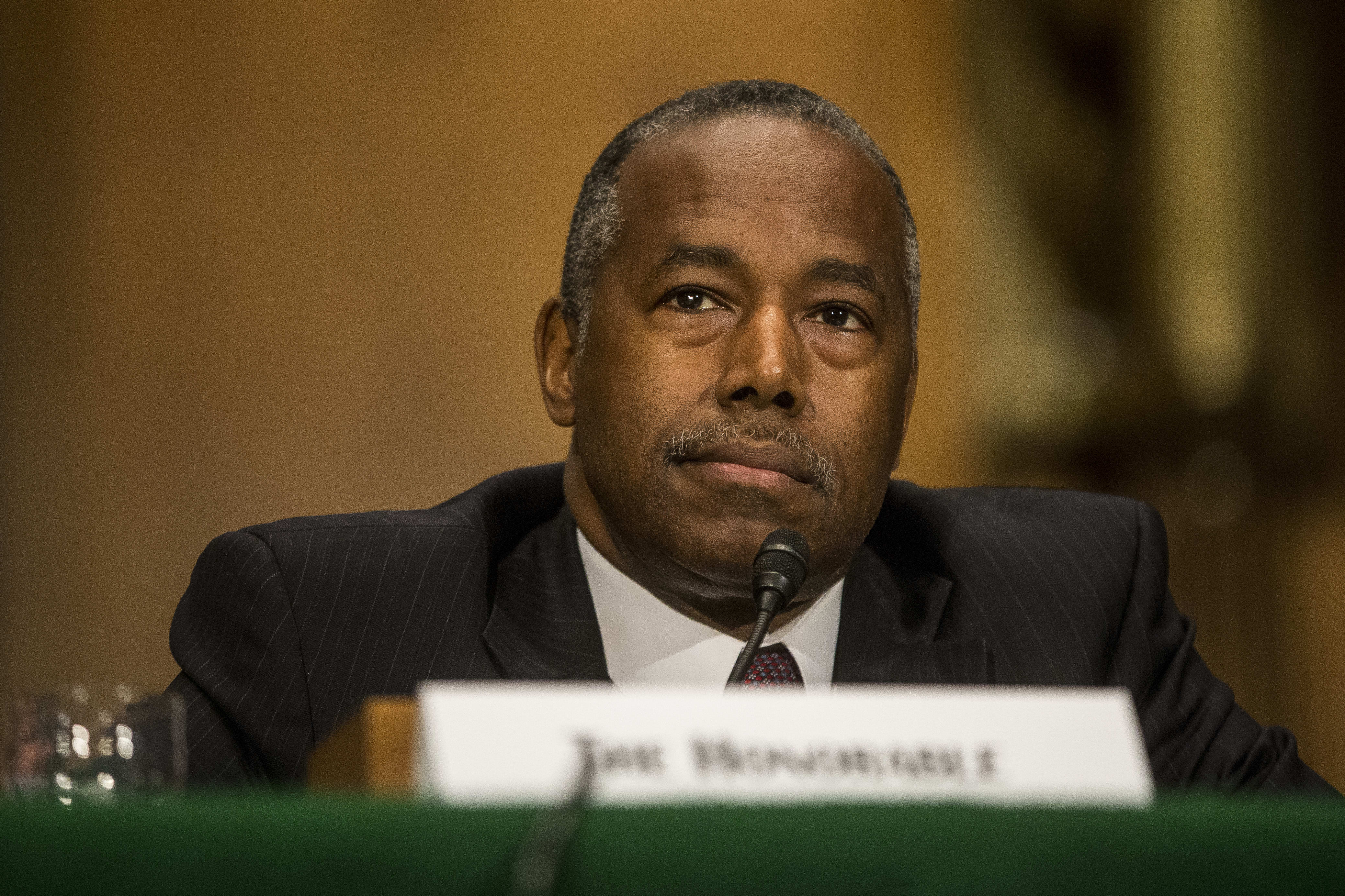Ben Carson cleared in probe of $31,000 HUD dining room splurge