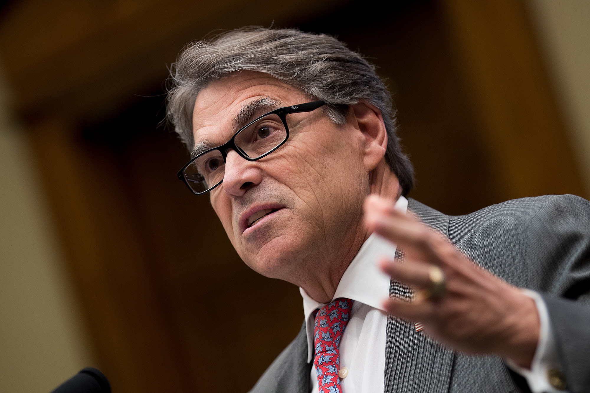 Energy Secretary Perry expects a 'coalition effort' to put a stop to Iran's 'malign activities'