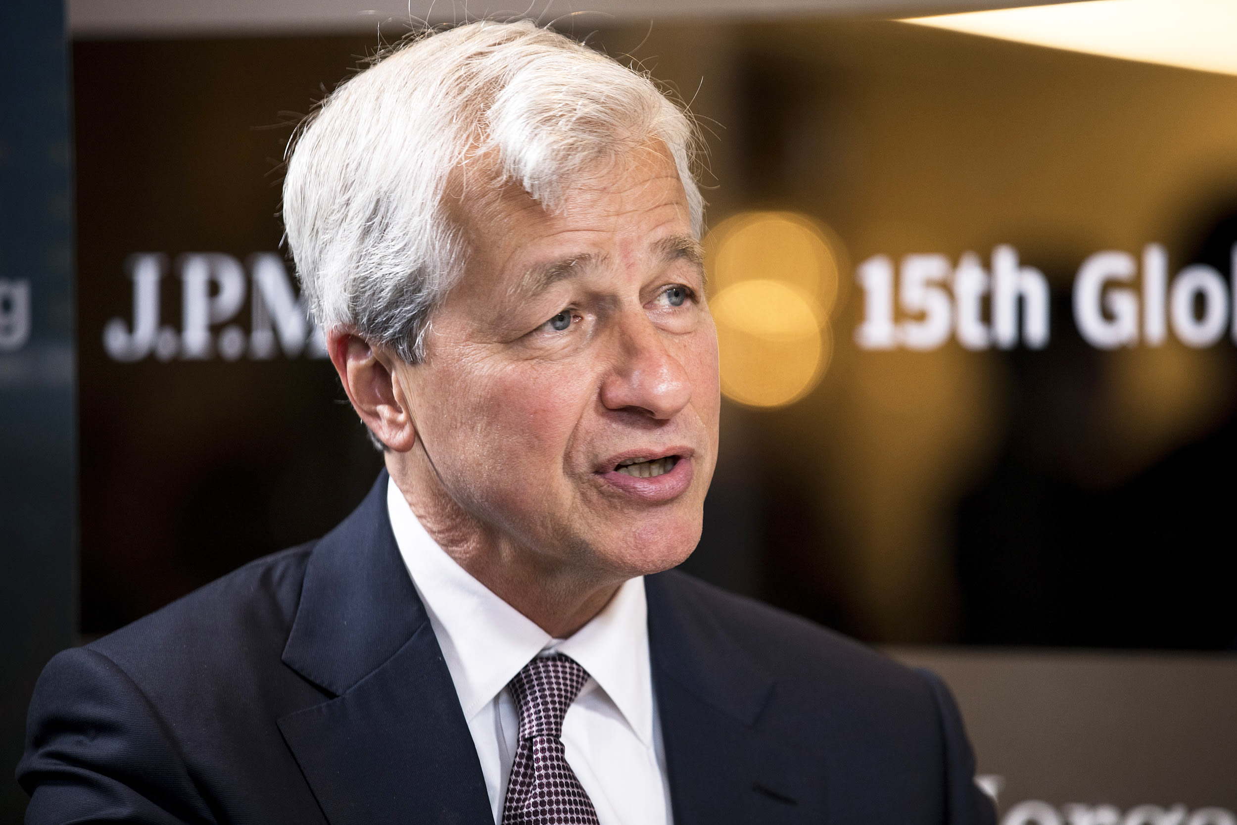 Jamie Dimon says JP Morgan preparing for 0% interest rates in U.S.