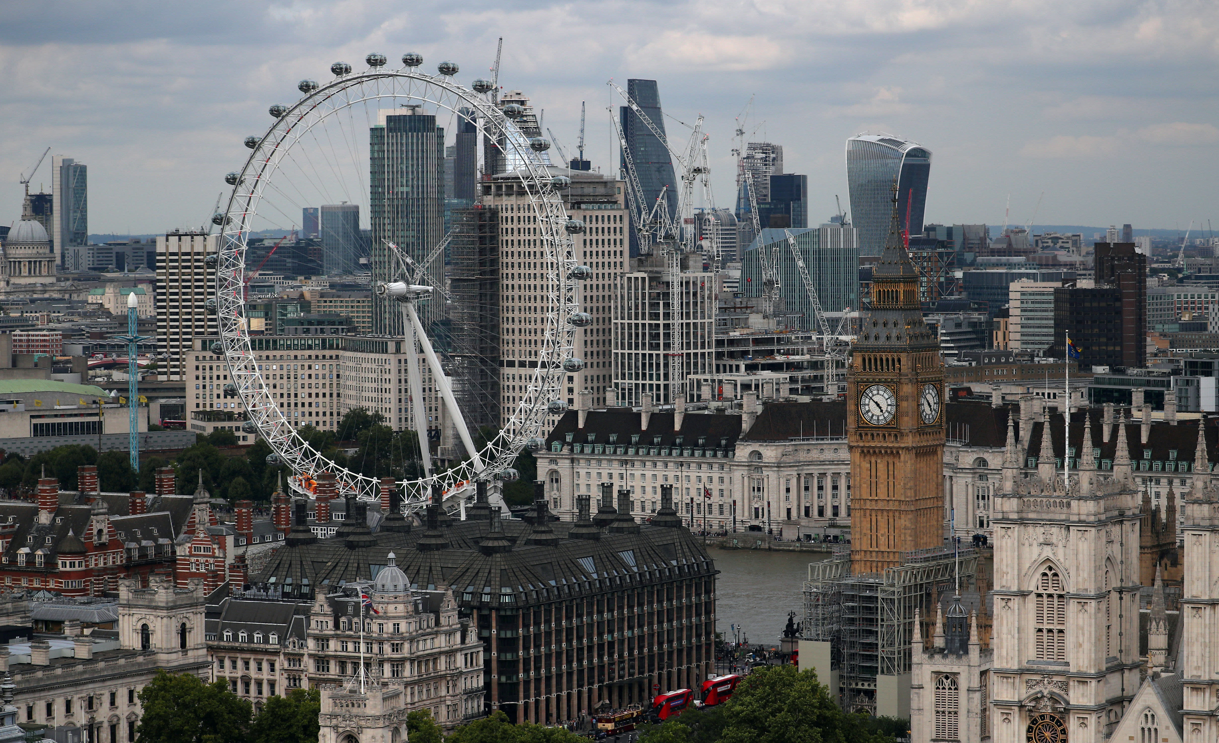 London just overtook New York for fintech investment, research shows