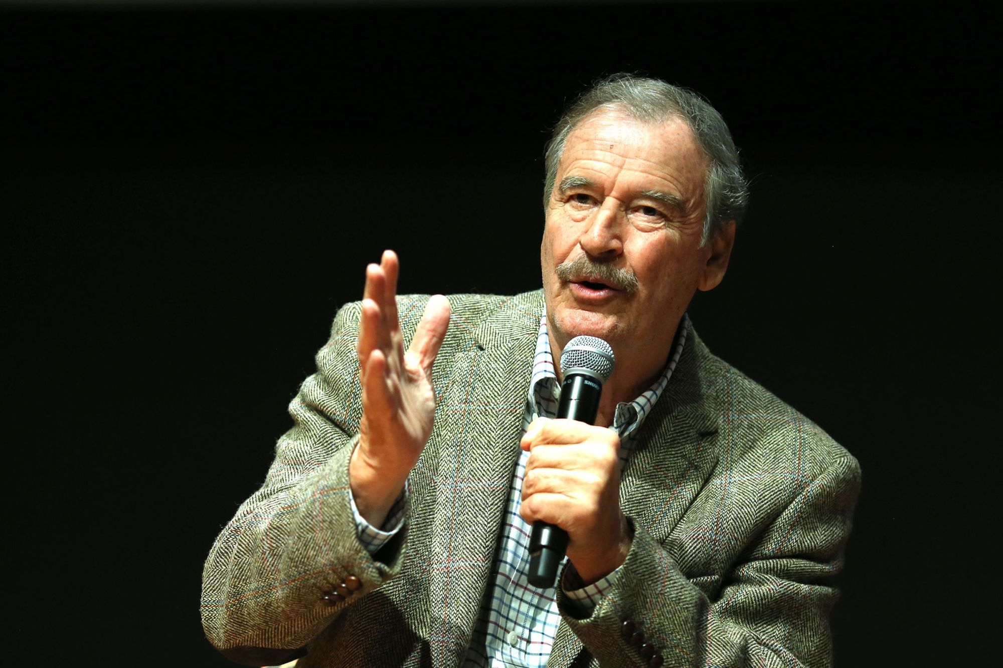 Mexico's Former President Vicente Fox Wants to Legalize Pot Everywhere