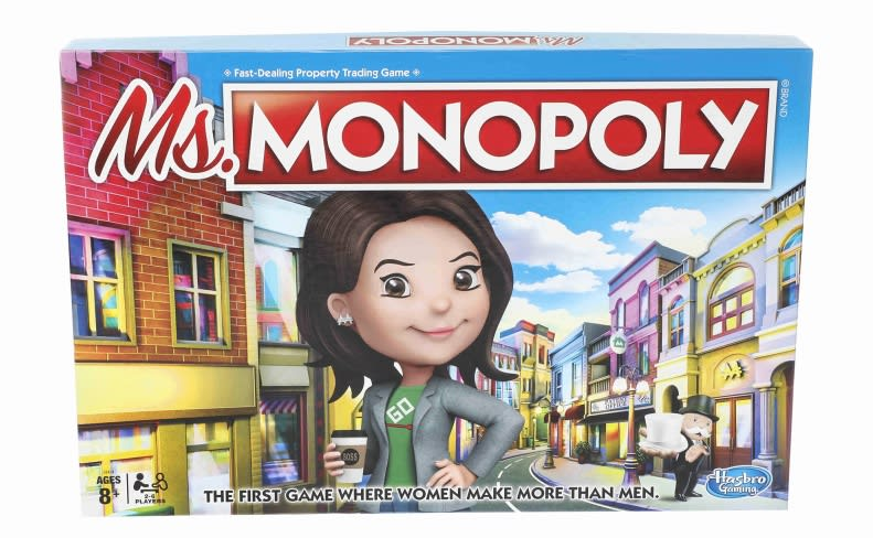 Ms. Monopoly is supposed to empower women. Critics abound.