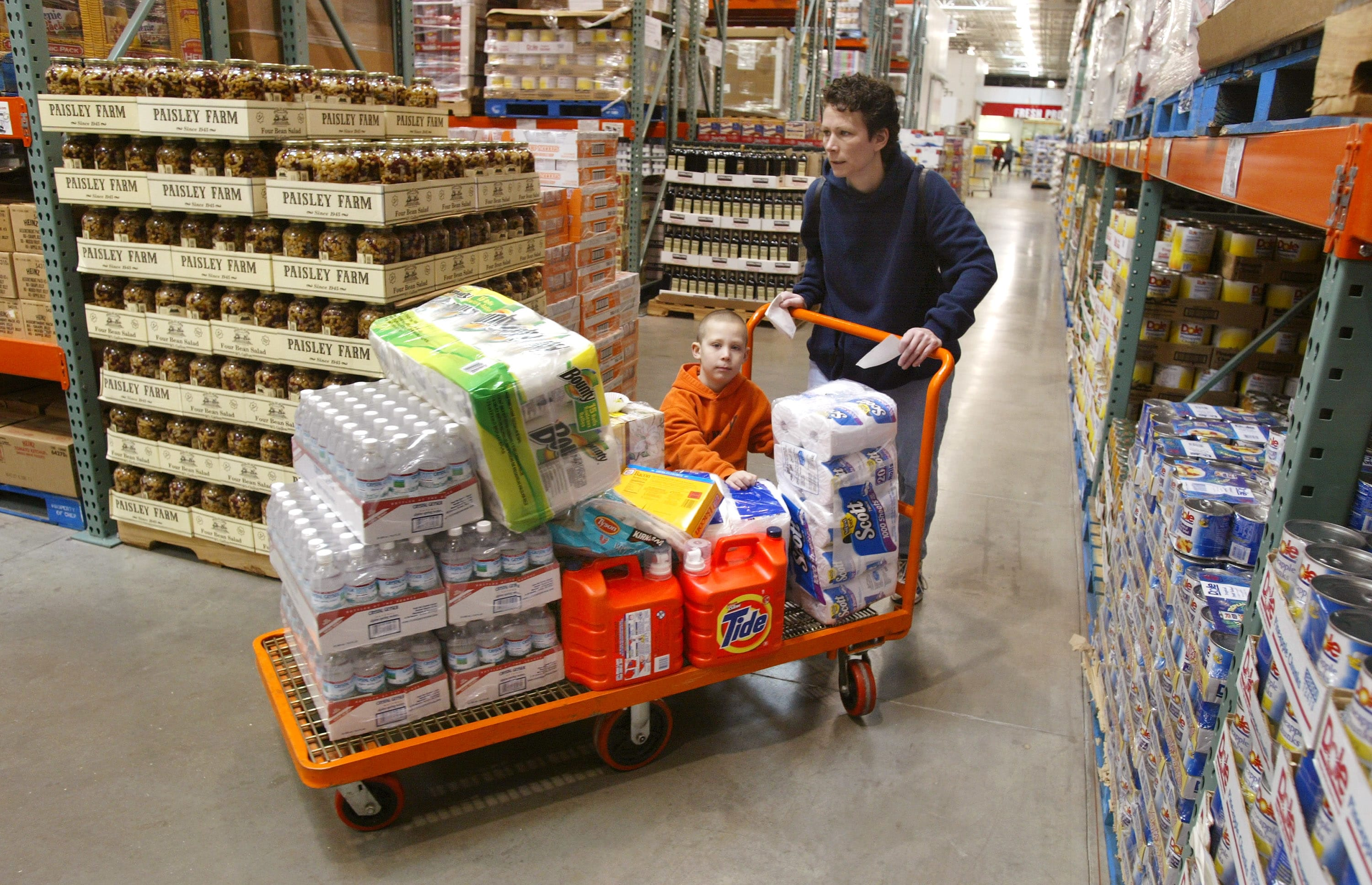 Red hot Costco shares fall after Oppenheimer downgrades, citing a record valuation