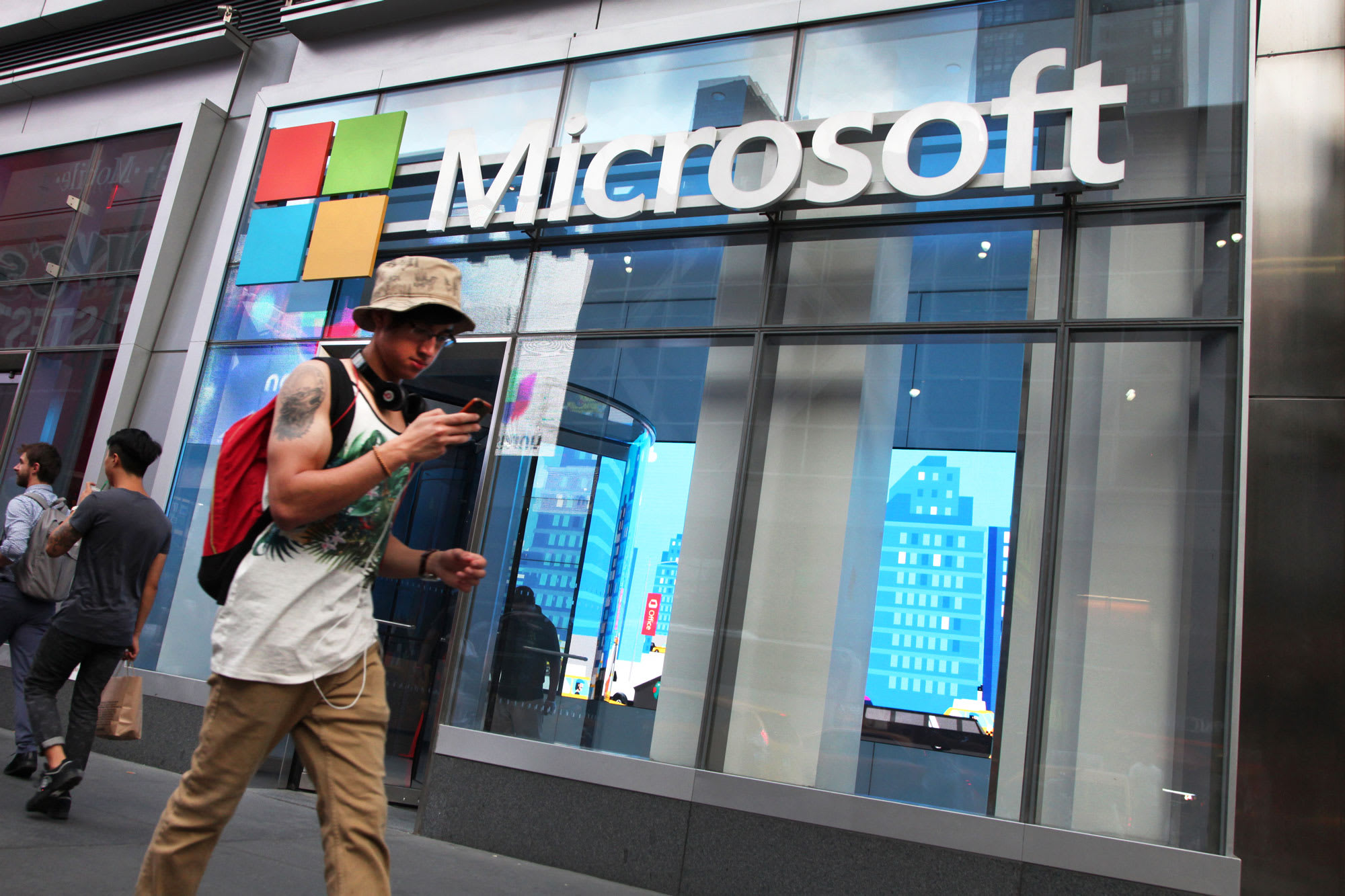 Stocks making the biggest moves after hours: AT&T, Microsoft and more
